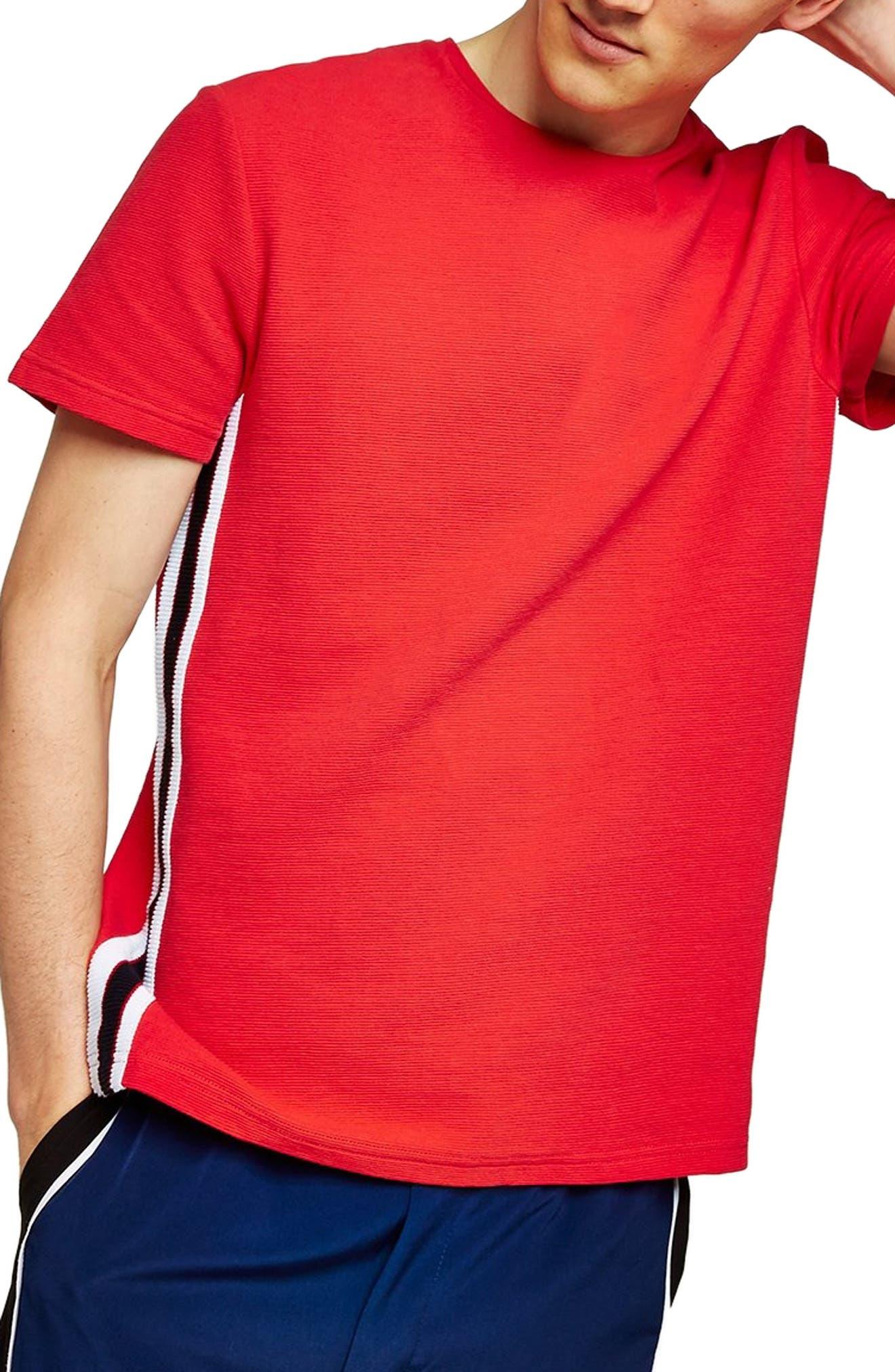 Taping Classic Fit T-Shirt,                             Main thumbnail 1, color,                             600