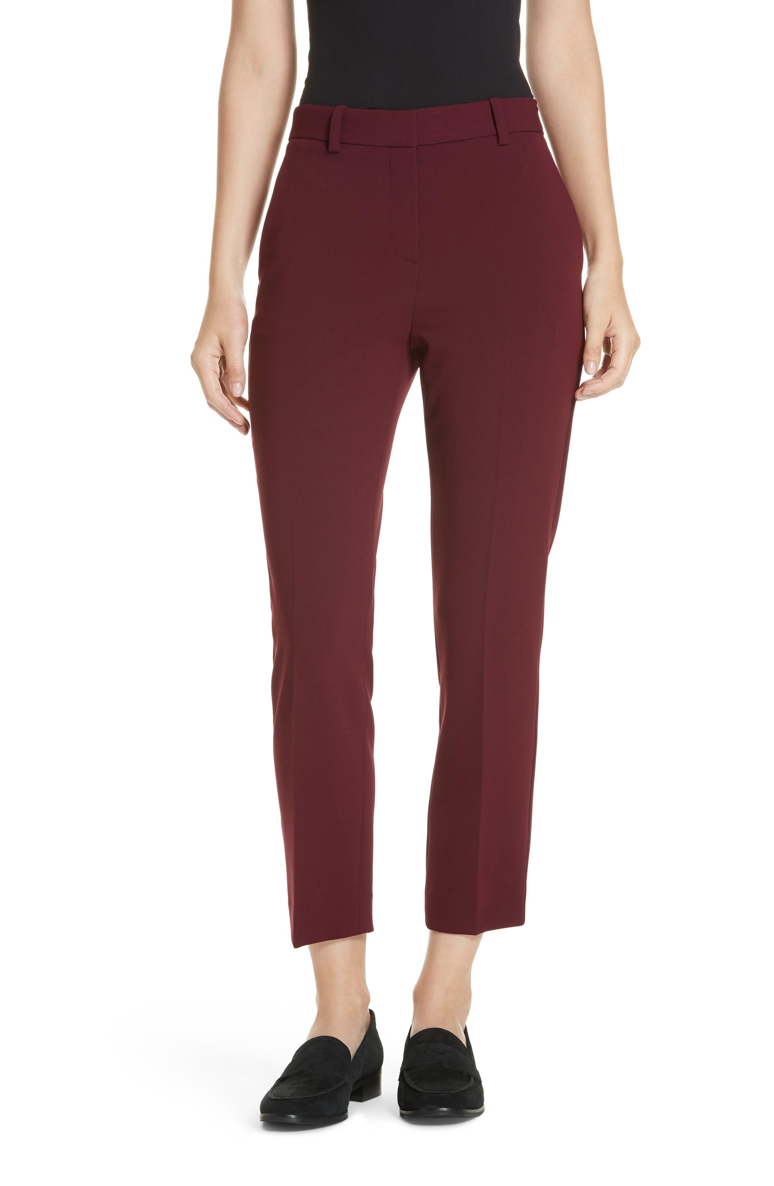 Treeca Crepe Ankle Pants,                         Main,                         color, 930