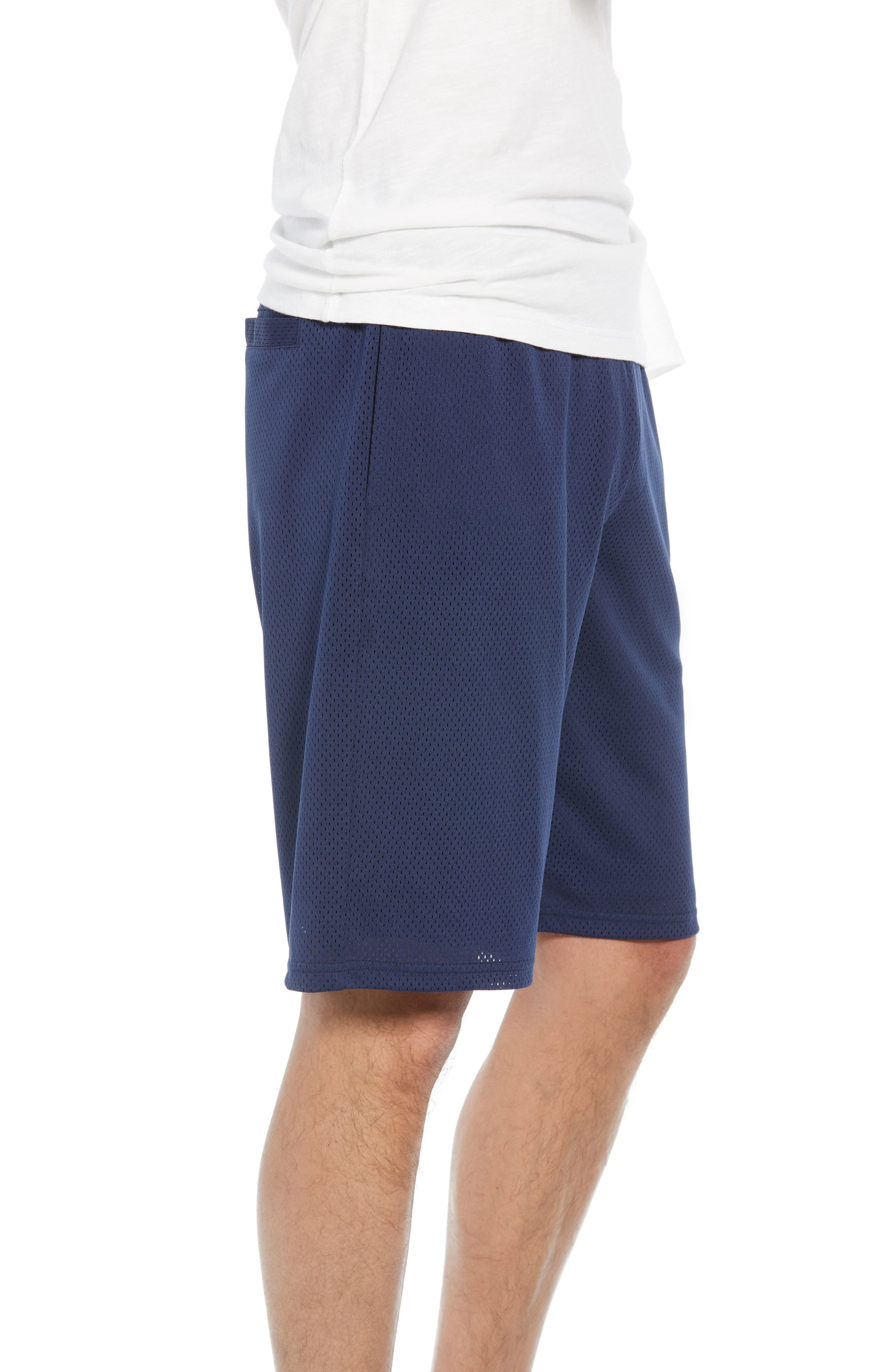 Basketball Shorts,                             Alternate thumbnail 3, color,                             NAVY PEACOAT