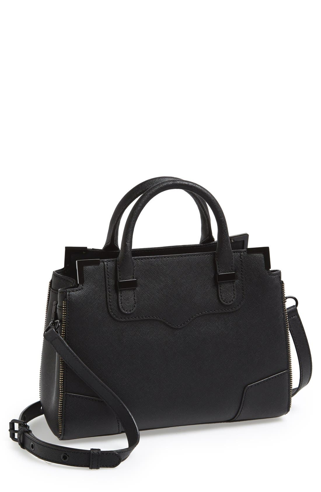 'Small Amorous' Satchel,                         Main,                         color, 001