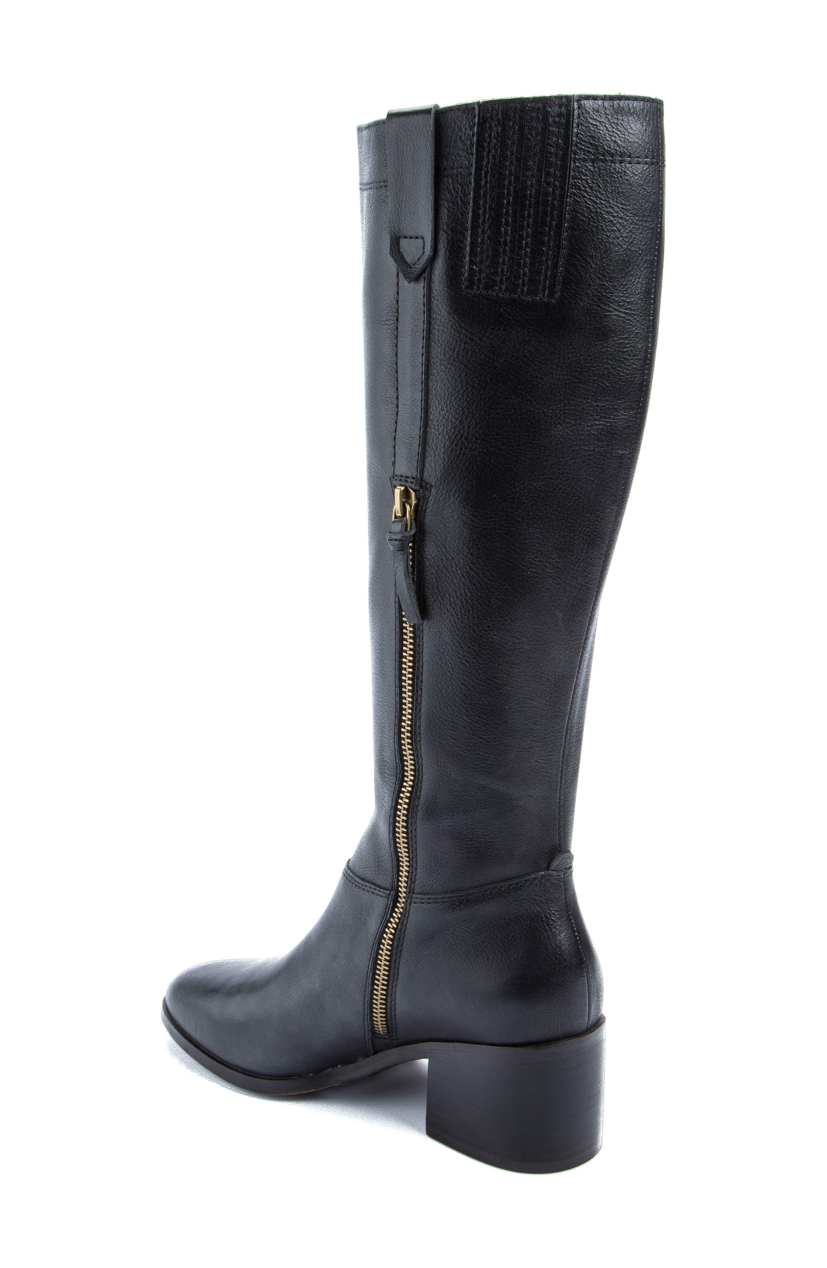 Diggity Knee-High Boot,                             Alternate thumbnail 2, color,                             001