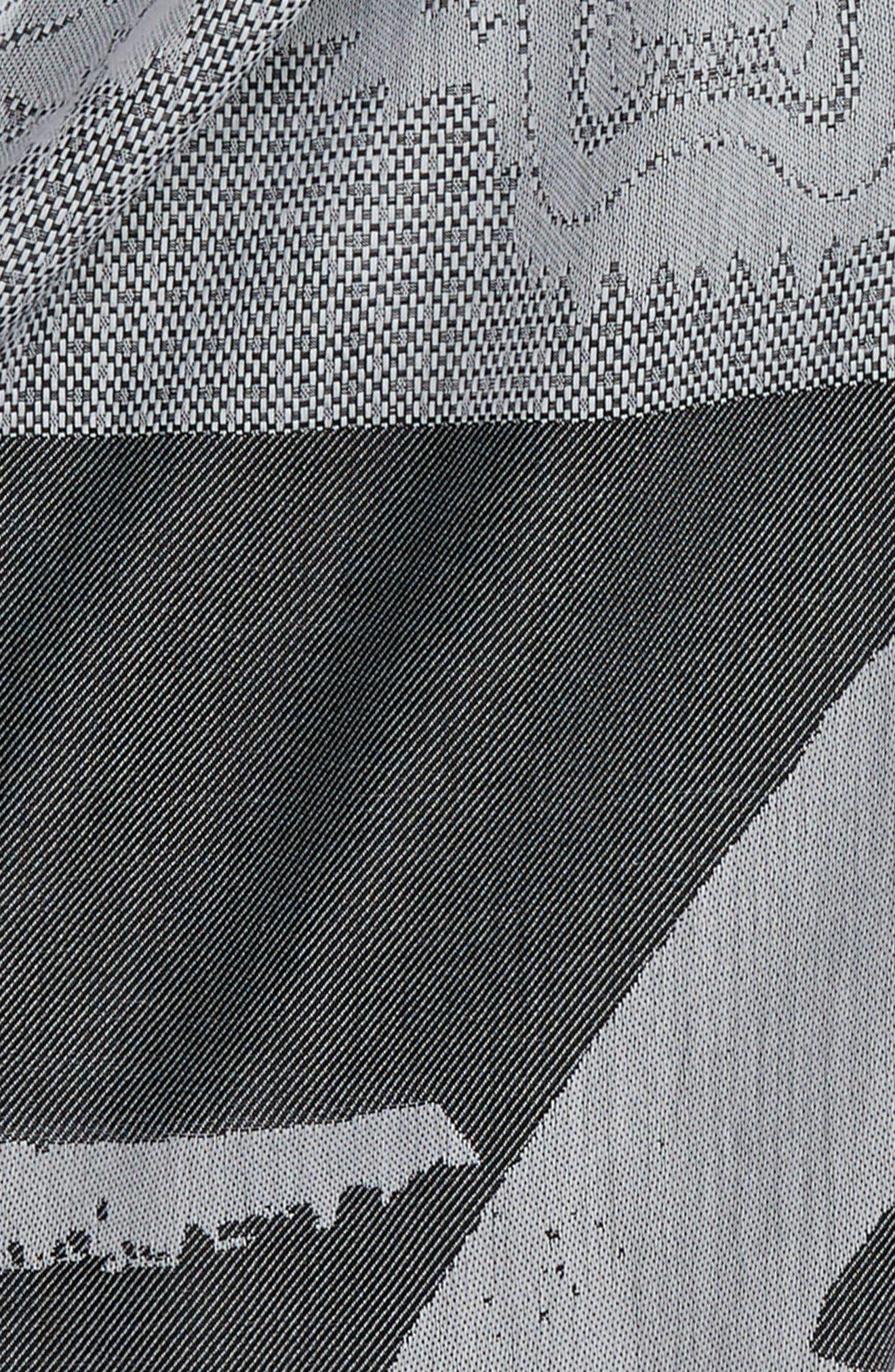 Multi Icons Cotton & Silk Scarf,                             Alternate thumbnail 4, color,                             022