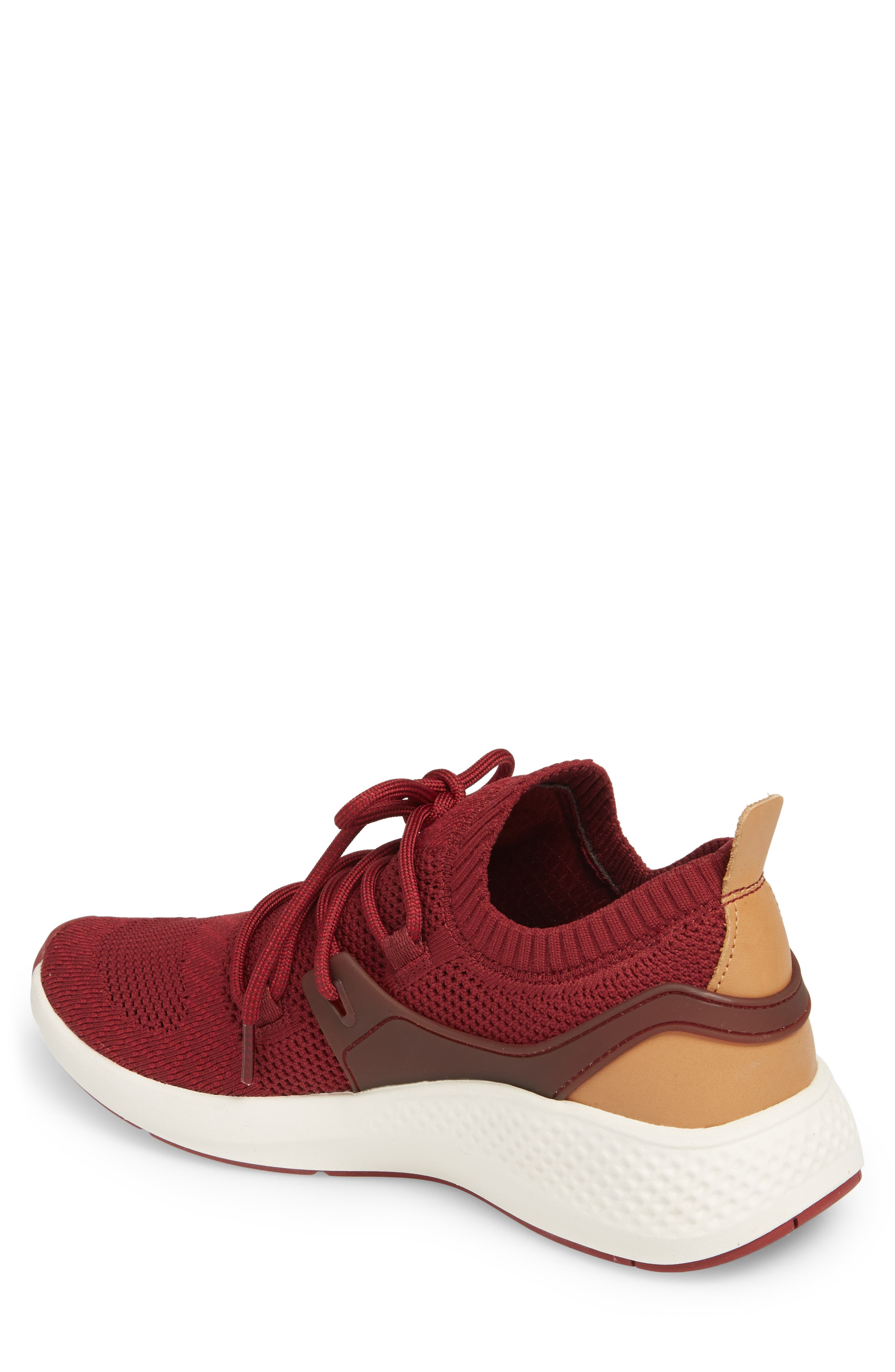 FlyRoam Sneaker,                             Alternate thumbnail 2, color,                             POMEGRANATE LEATHER