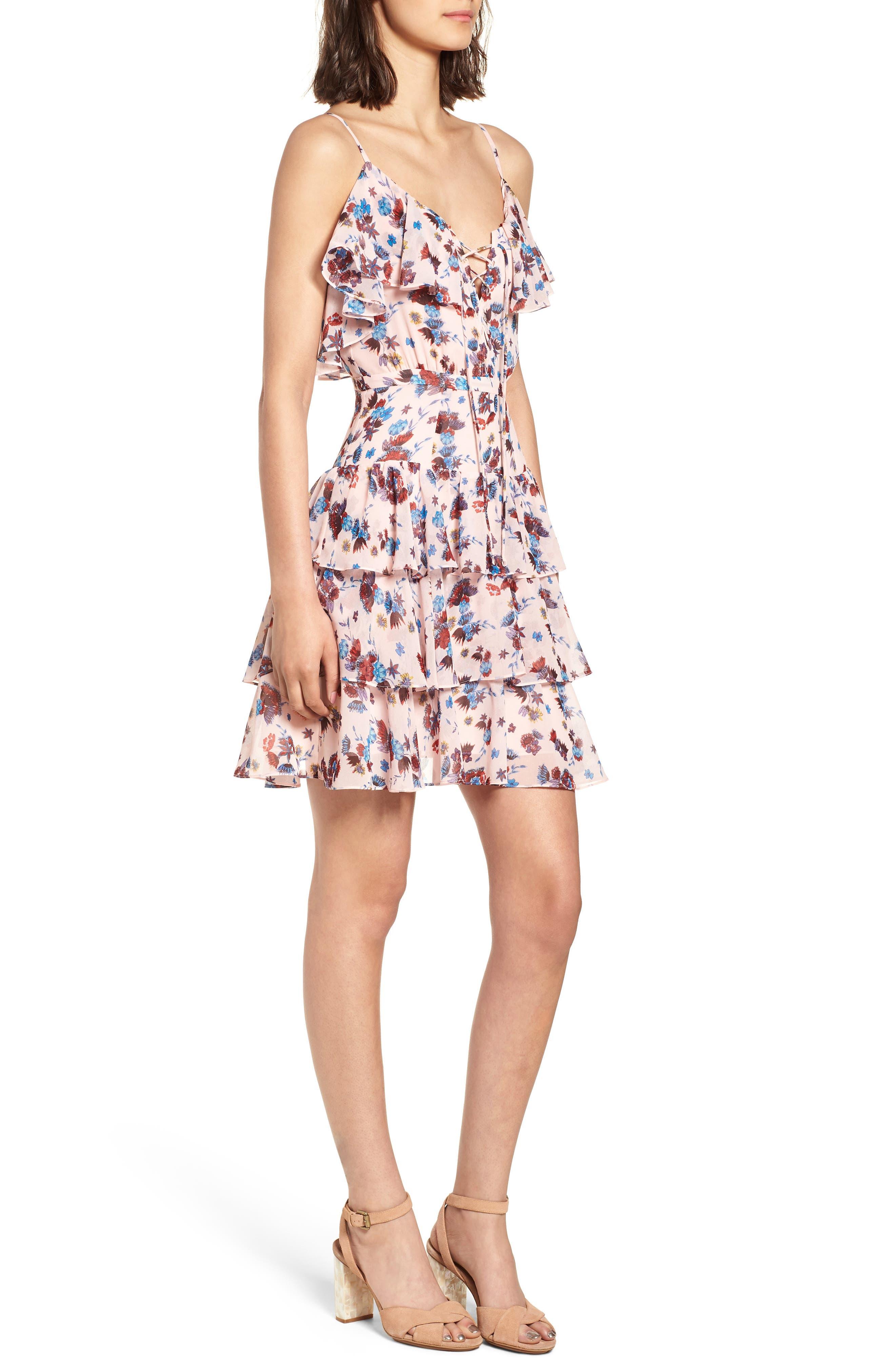Marla Dress,                             Alternate thumbnail 3, color,                             671