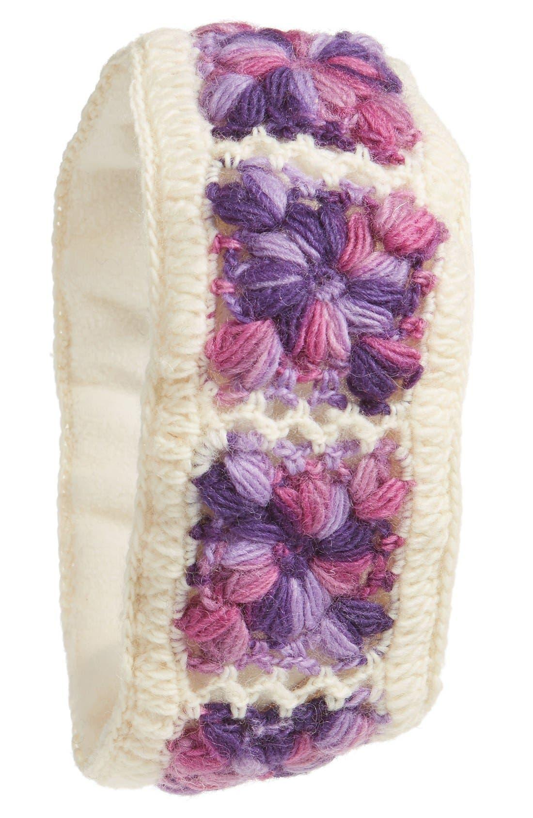 Crochet Ear Warmer Headband,                             Main thumbnail 8, color,
