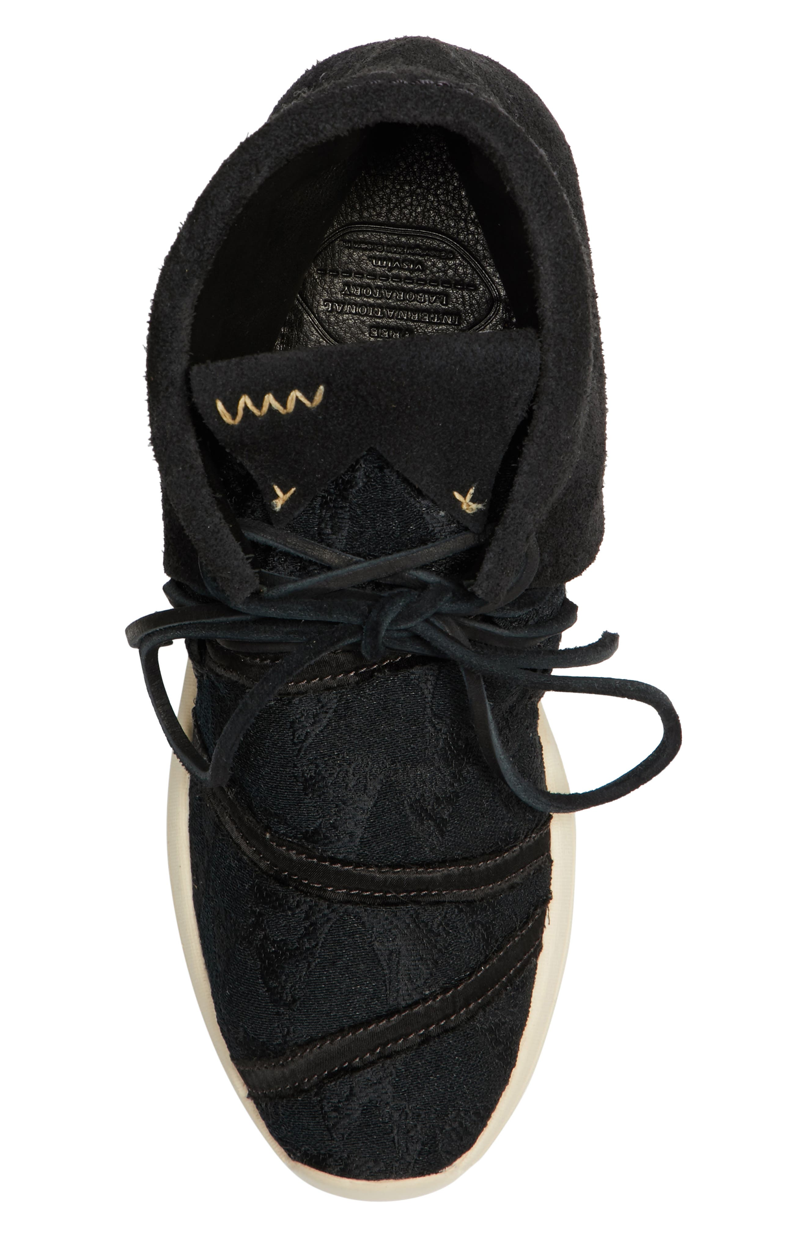 Huron Lhamo Hi Folk Hidden Wedge Sneaker,                             Alternate thumbnail 5, color,                             004