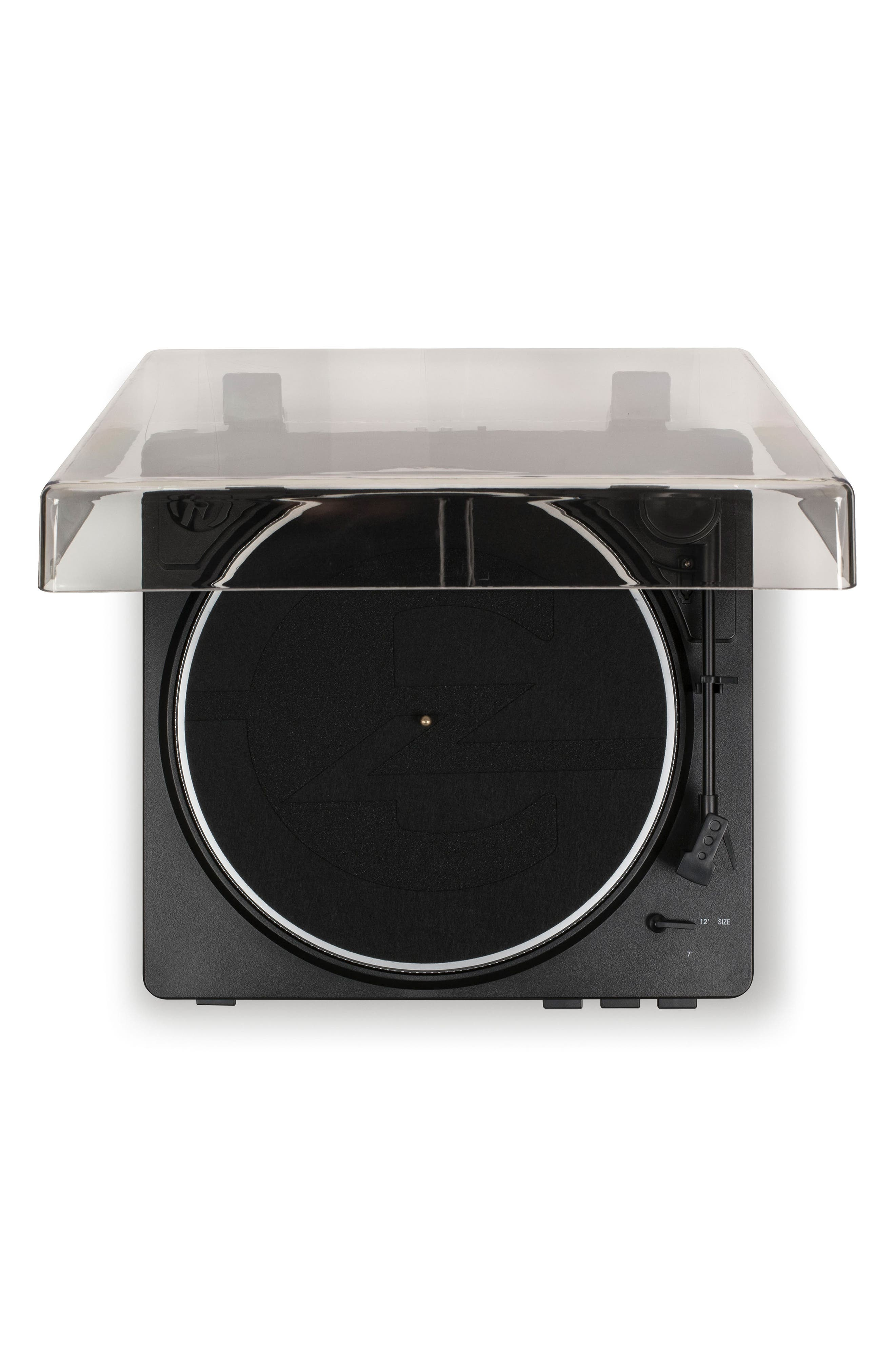 T400 Two-Speed Automatic Turntable,                             Alternate thumbnail 4, color,                             BLACK