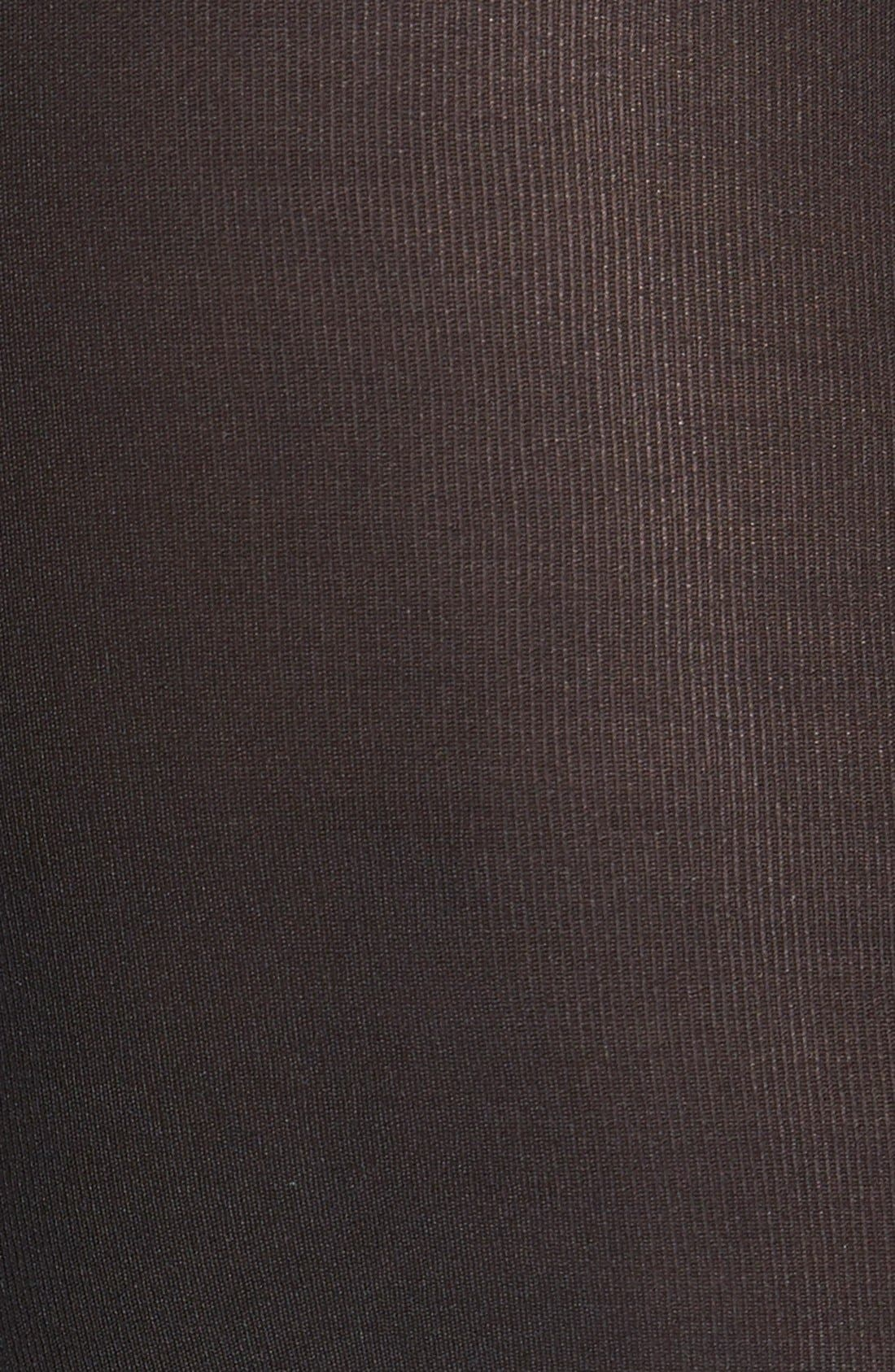 'Infinite' Opaque Tights,                             Alternate thumbnail 2, color,                             001