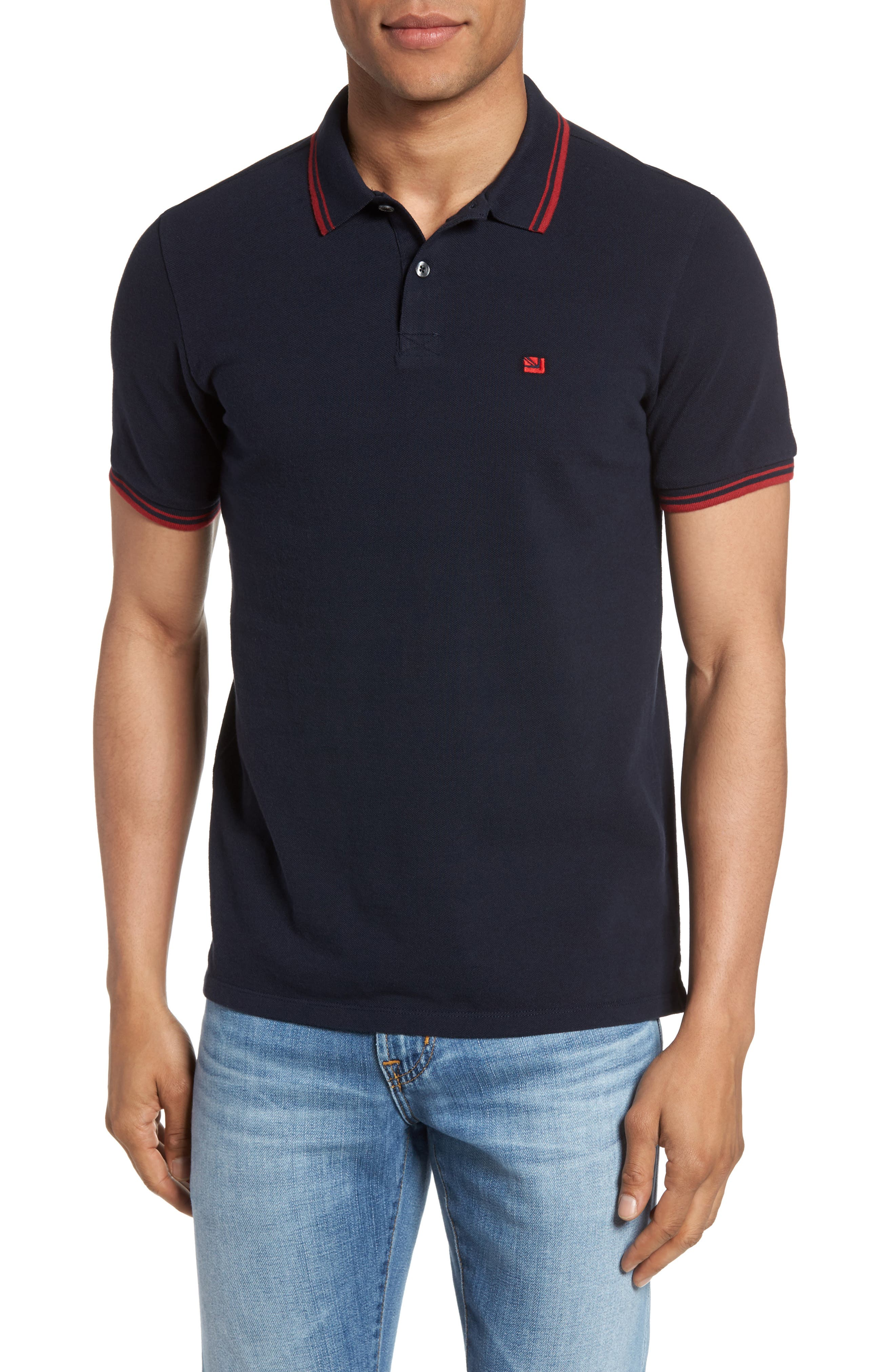Romford Polo,                         Main,                         color, STAPLES NAVY