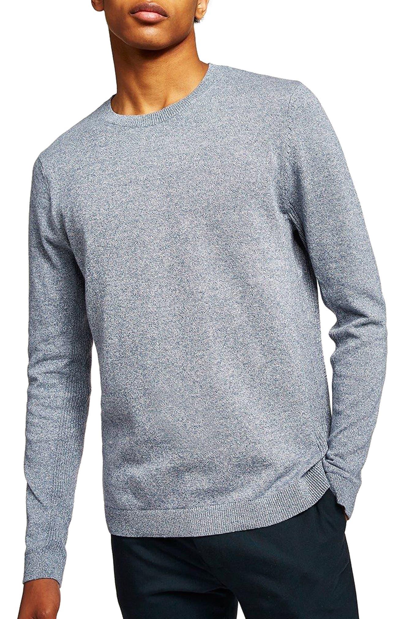 Side Rib Cotton Sweater,                             Main thumbnail 3, color,