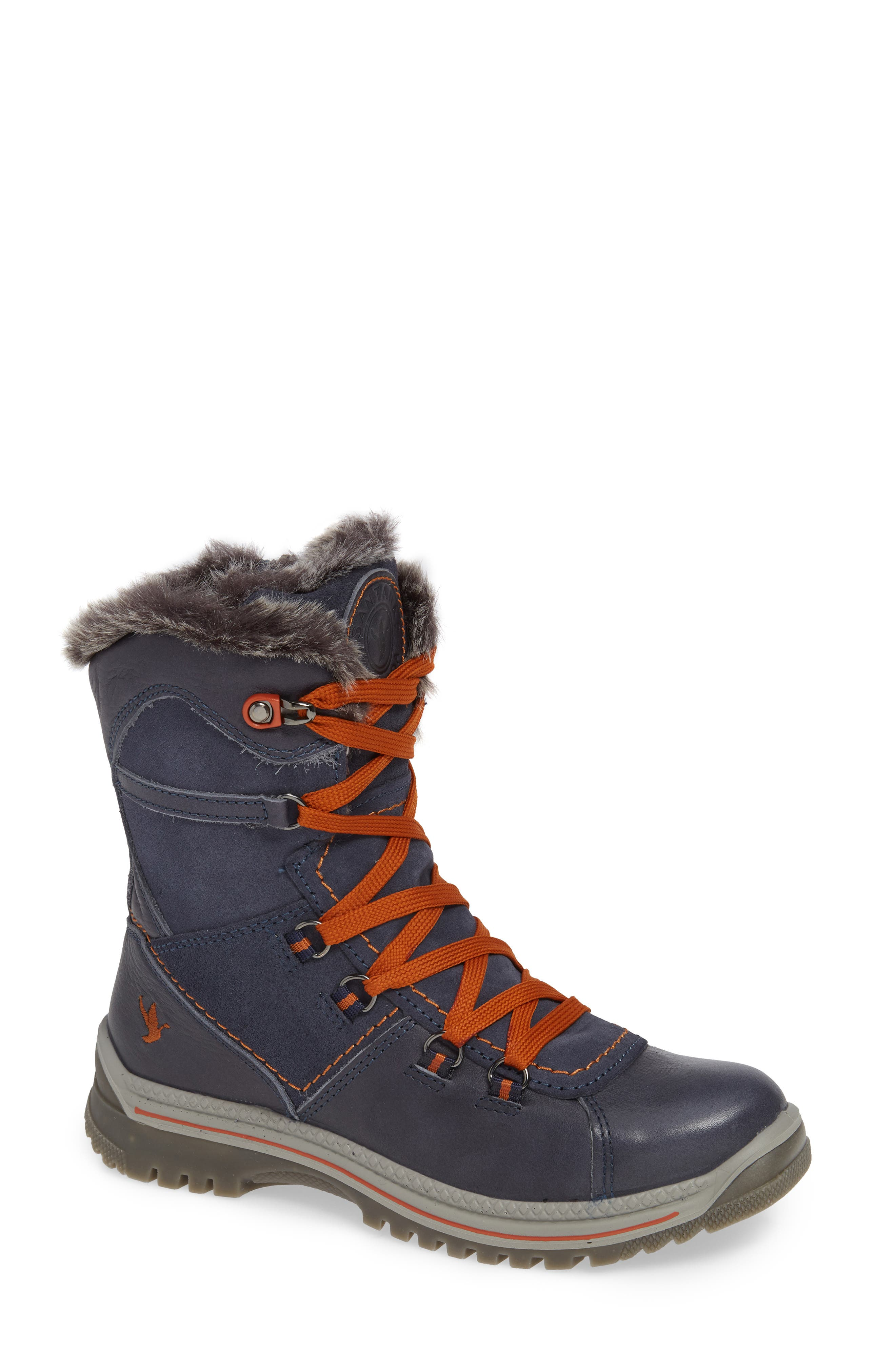 Santana Canada Majesta Luxe Waterproof Winter Boot, Blue