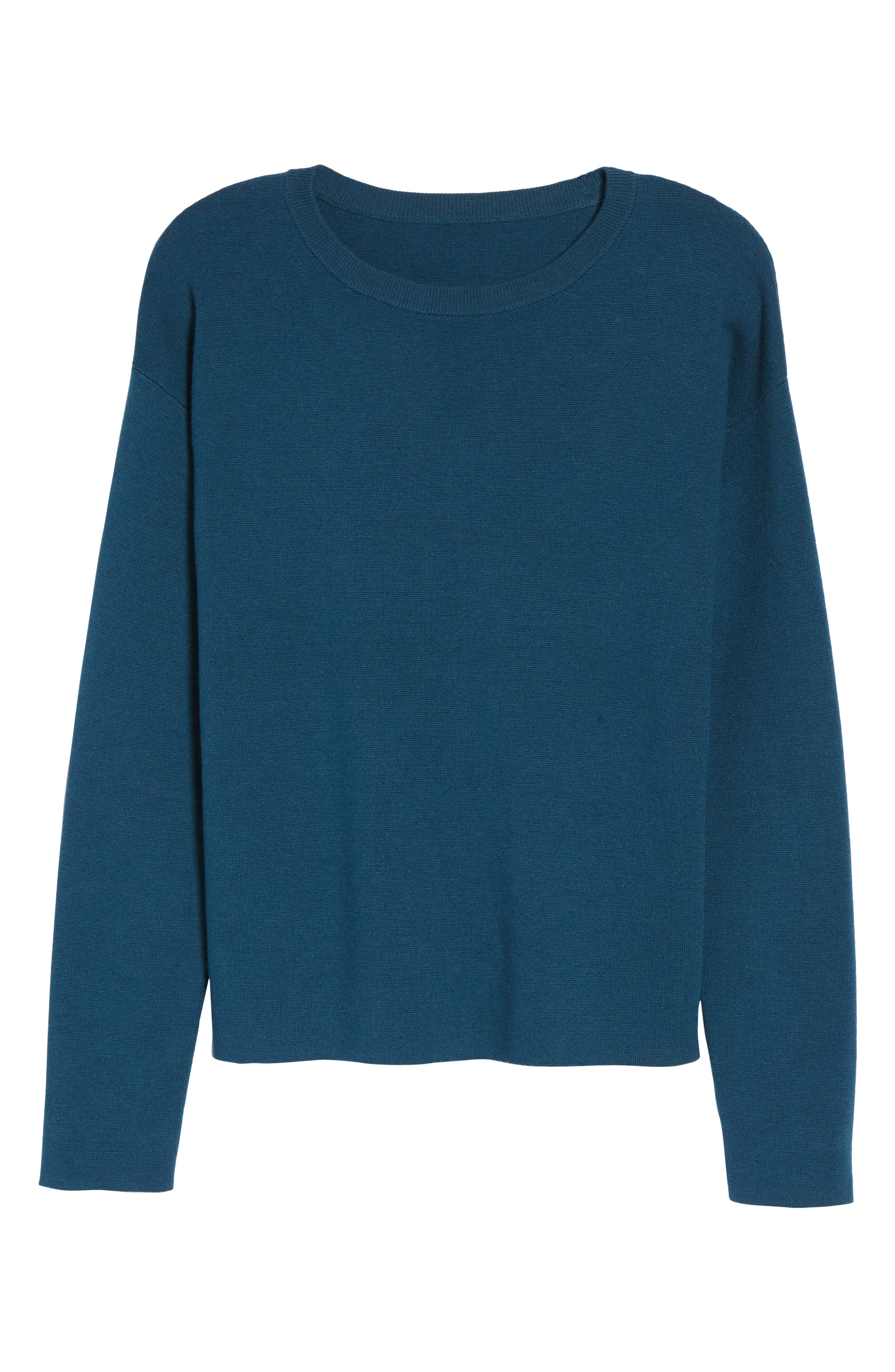 Tie Back Sweater,                             Alternate thumbnail 18, color,