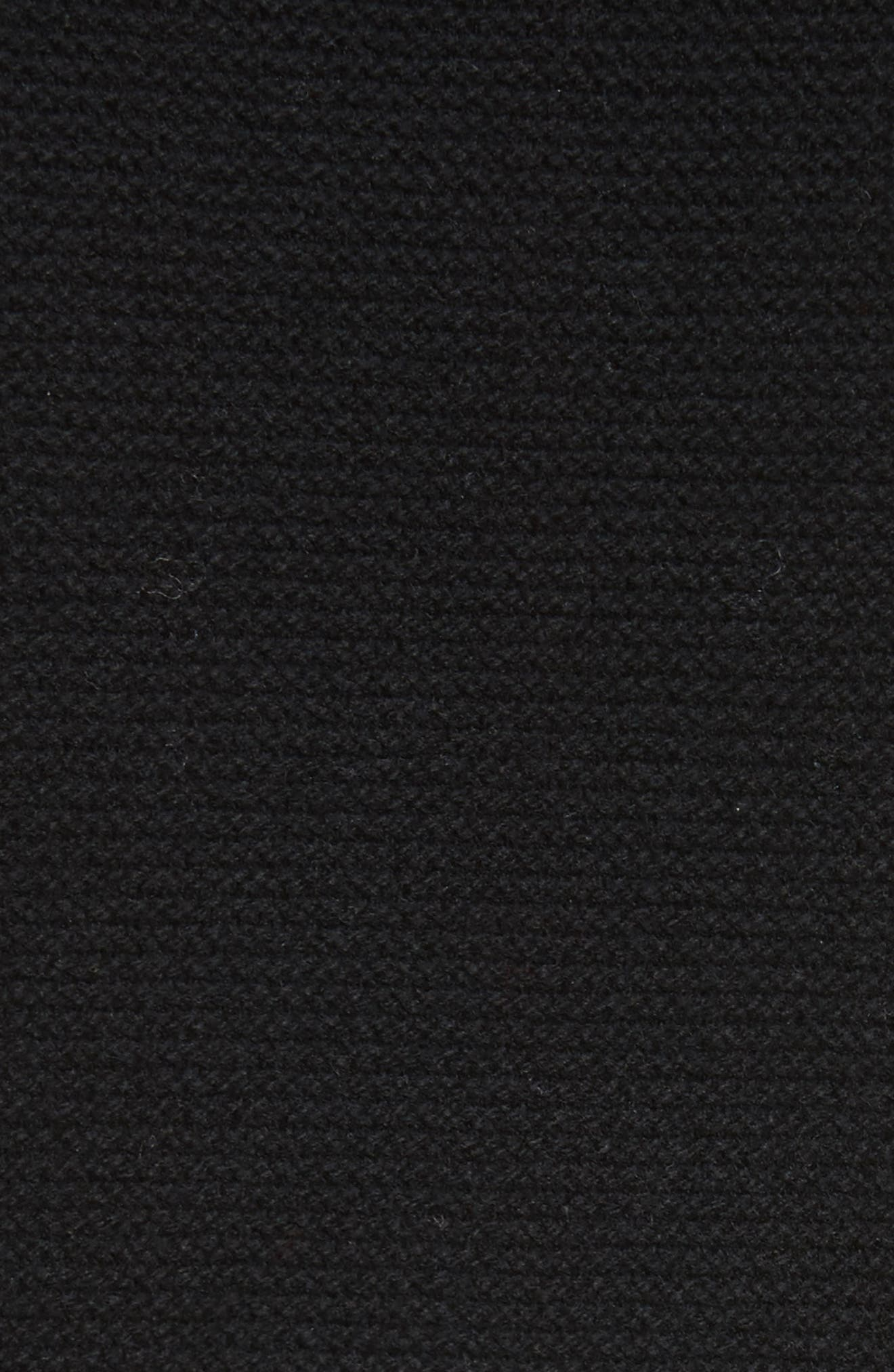 Chandler Wool-Blend Turtleneck Sweater,                             Alternate thumbnail 5, color,                             001