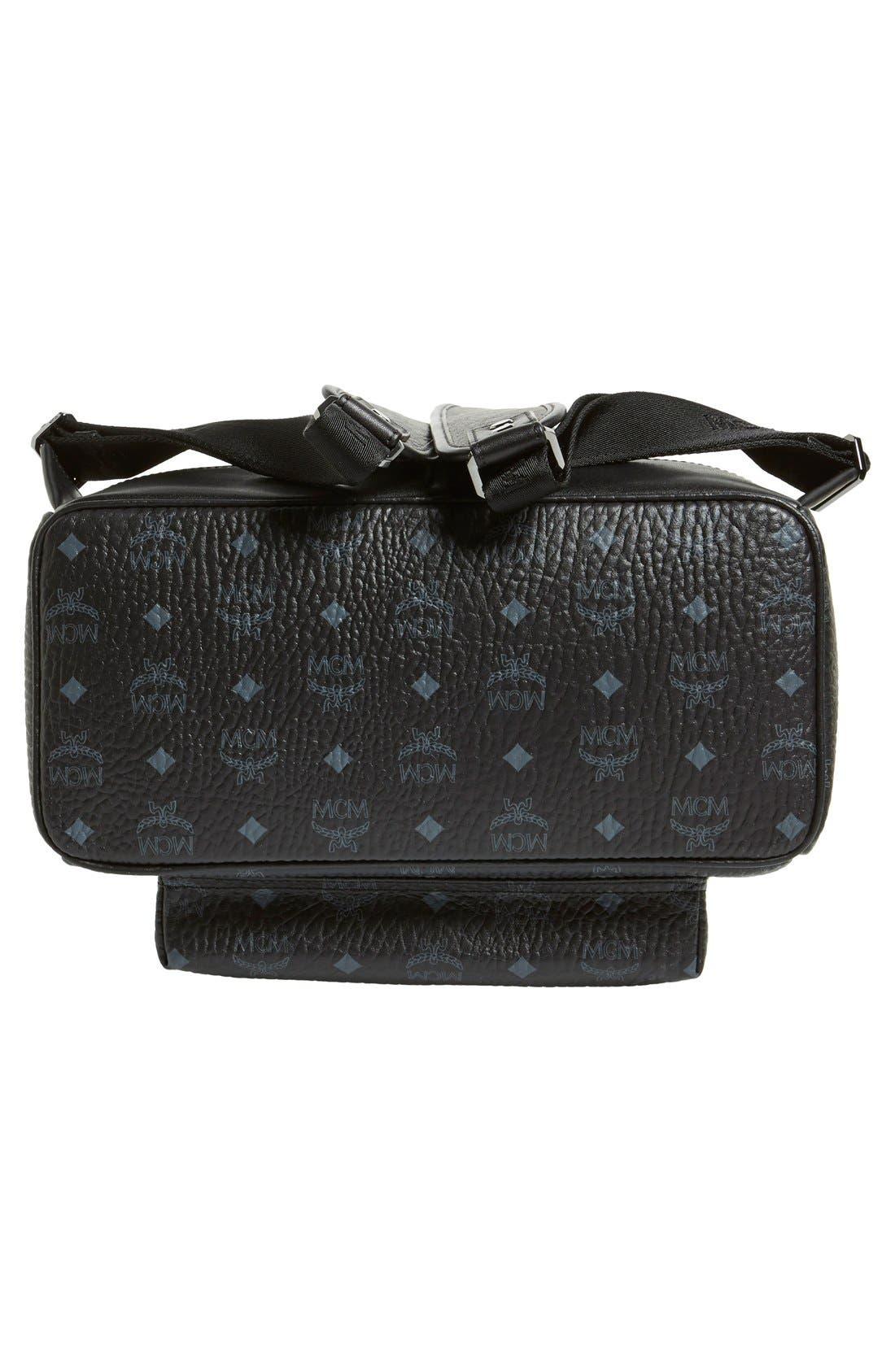 Medium Stark - Visetos Backpack,                             Alternate thumbnail 6, color,                             BLACK