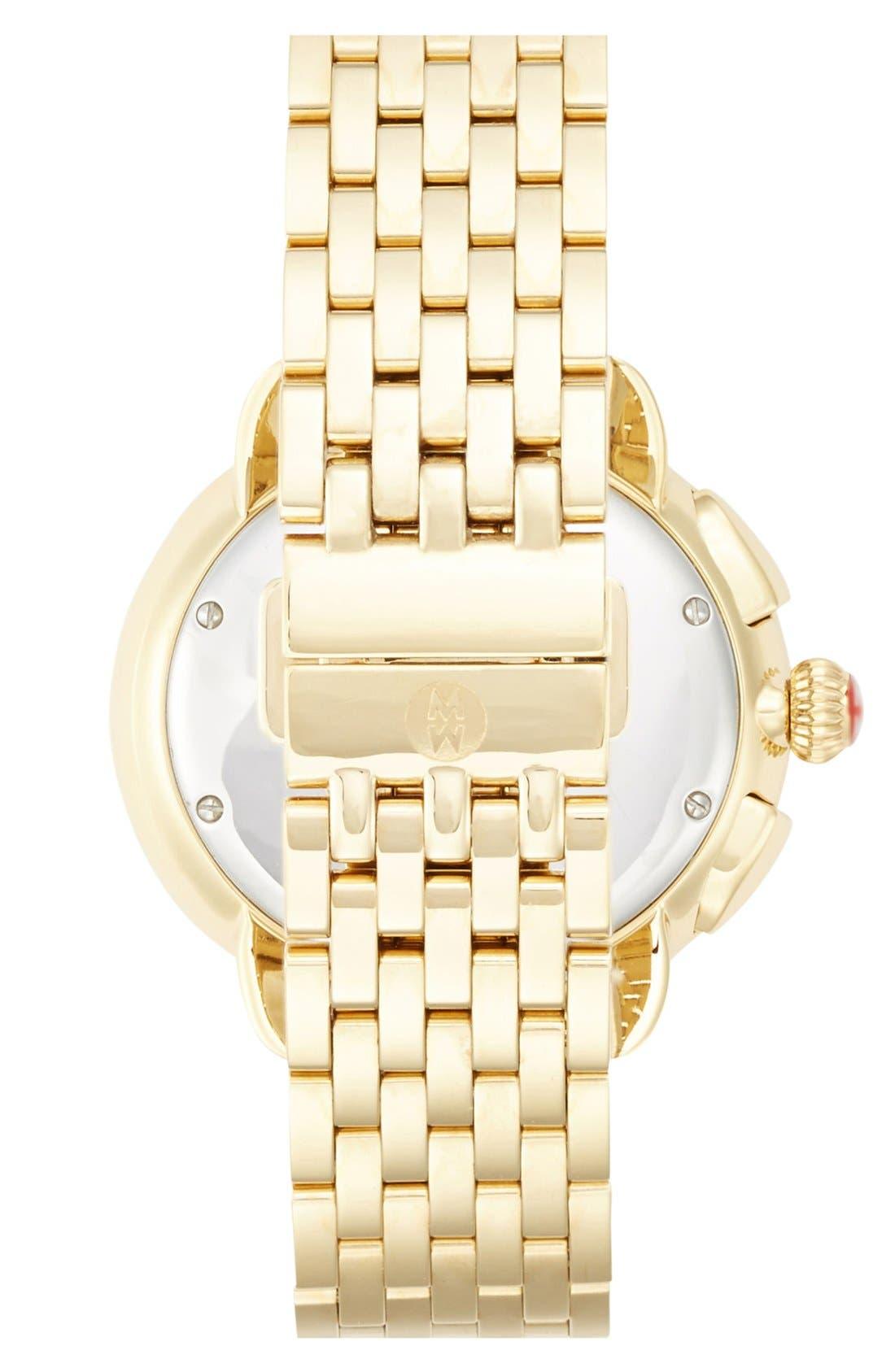 'Serein' 18mm Watch Bracelet Band,                             Alternate thumbnail 4, color,                             GOLD