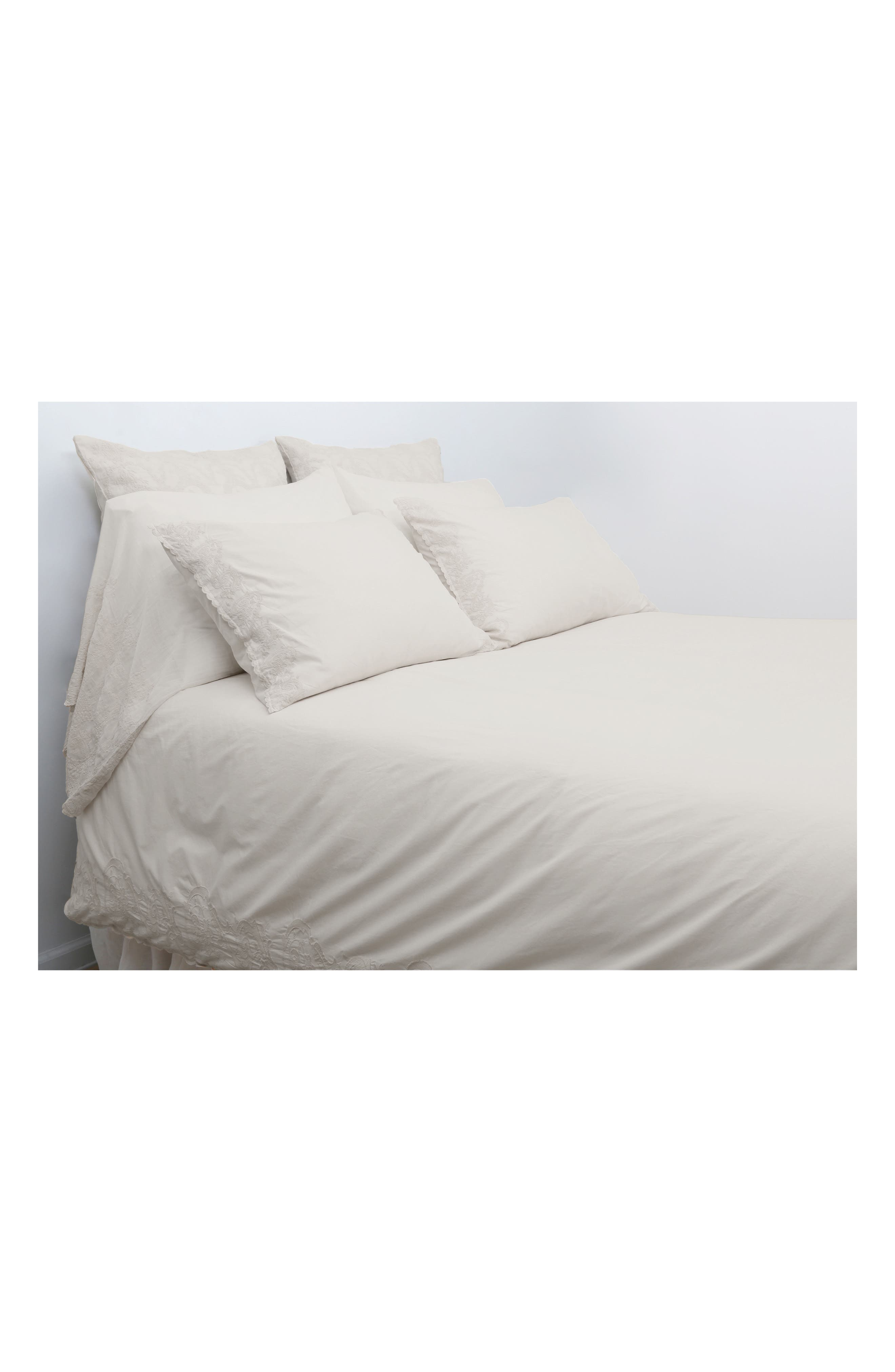 Grace Pillowcases,                             Main thumbnail 1, color,                             TAUPE