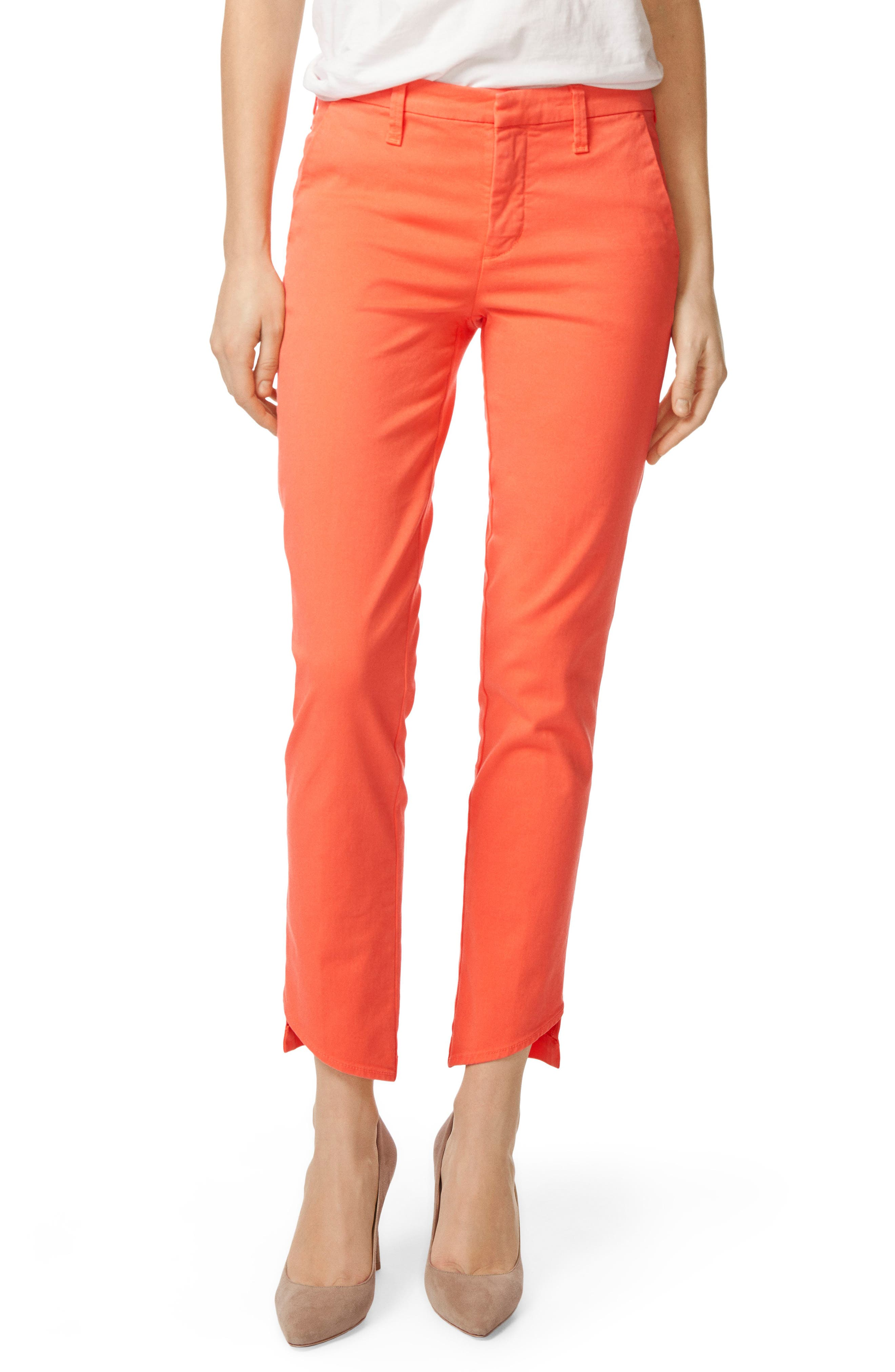 Clara Trousers,                             Main thumbnail 1, color,                             PASSION FRUIT