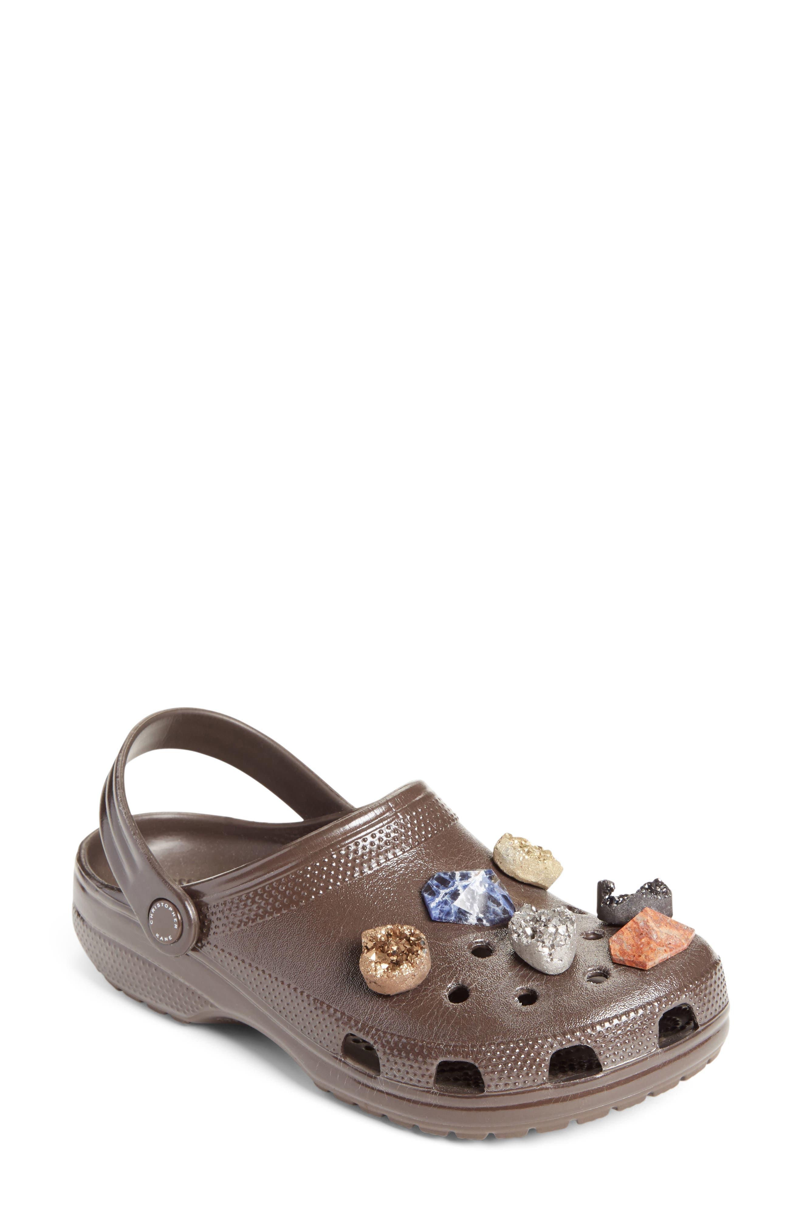 x CROCS<sup>™</sup> Multi Stone Clog Sandal,                         Main,                         color, 200