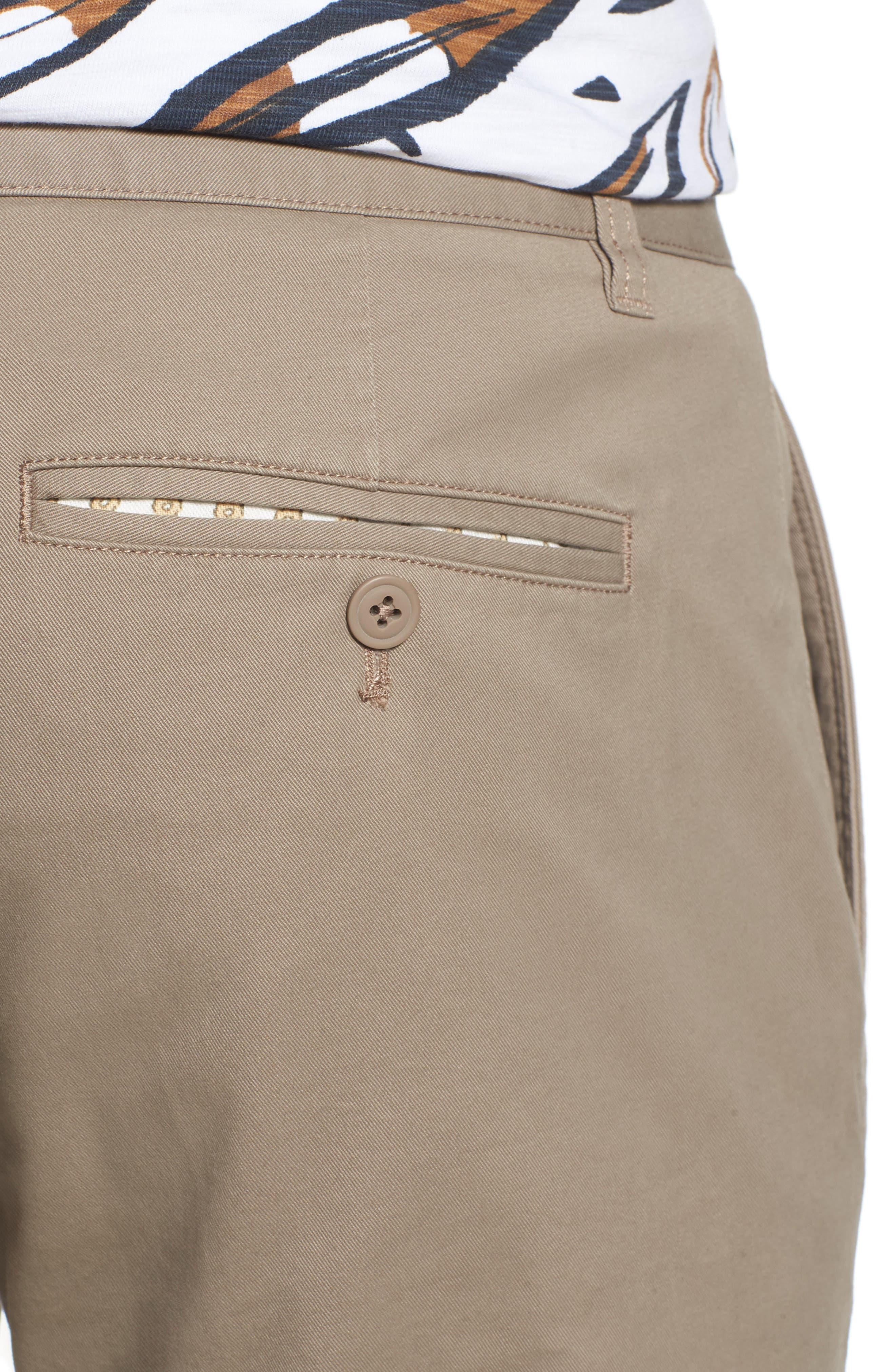 Tailored Fit Washed Stretch Cotton Chinos,                             Alternate thumbnail 109, color,