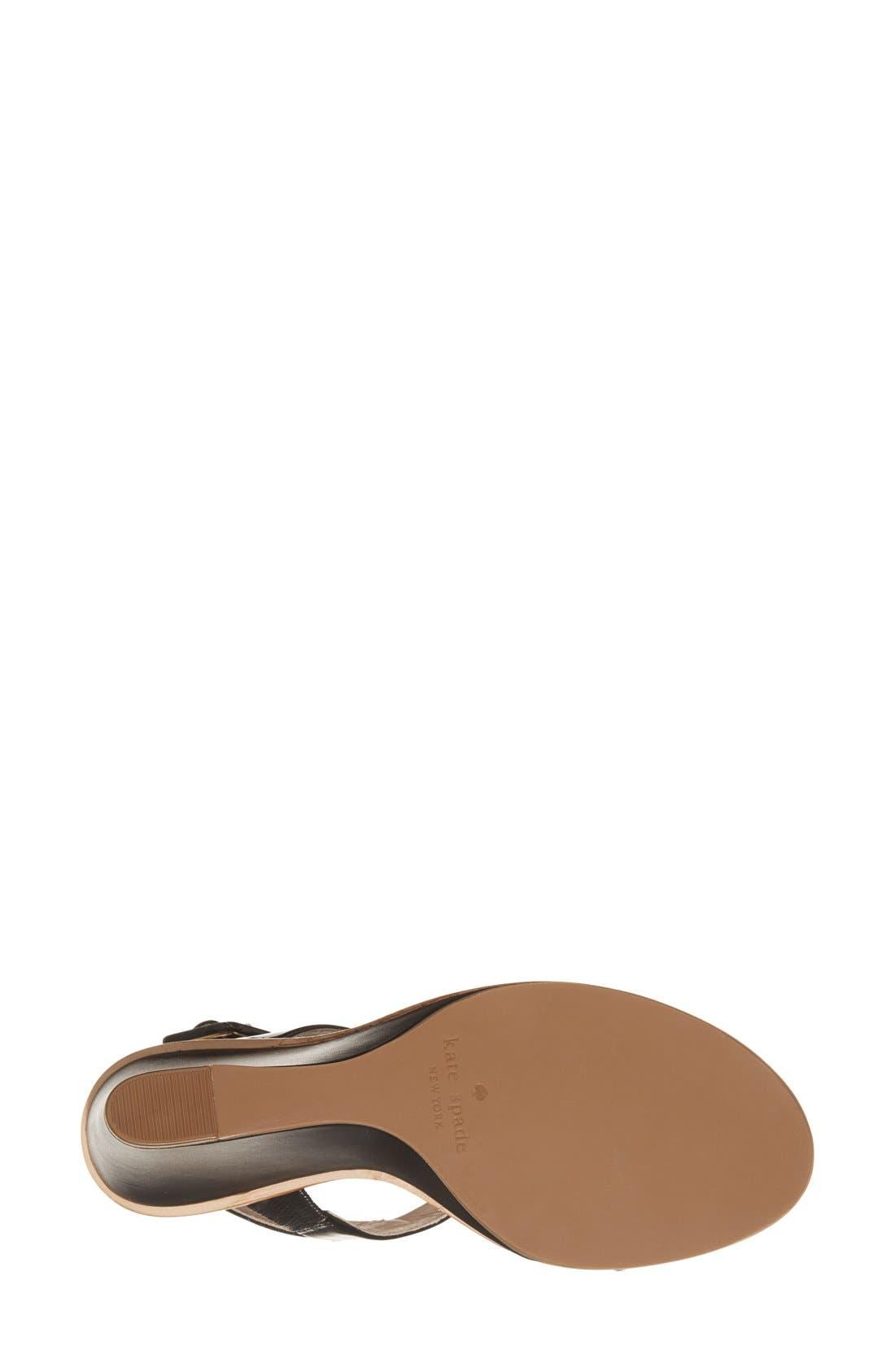'nice' sandal,                             Alternate thumbnail 3, color,                             001