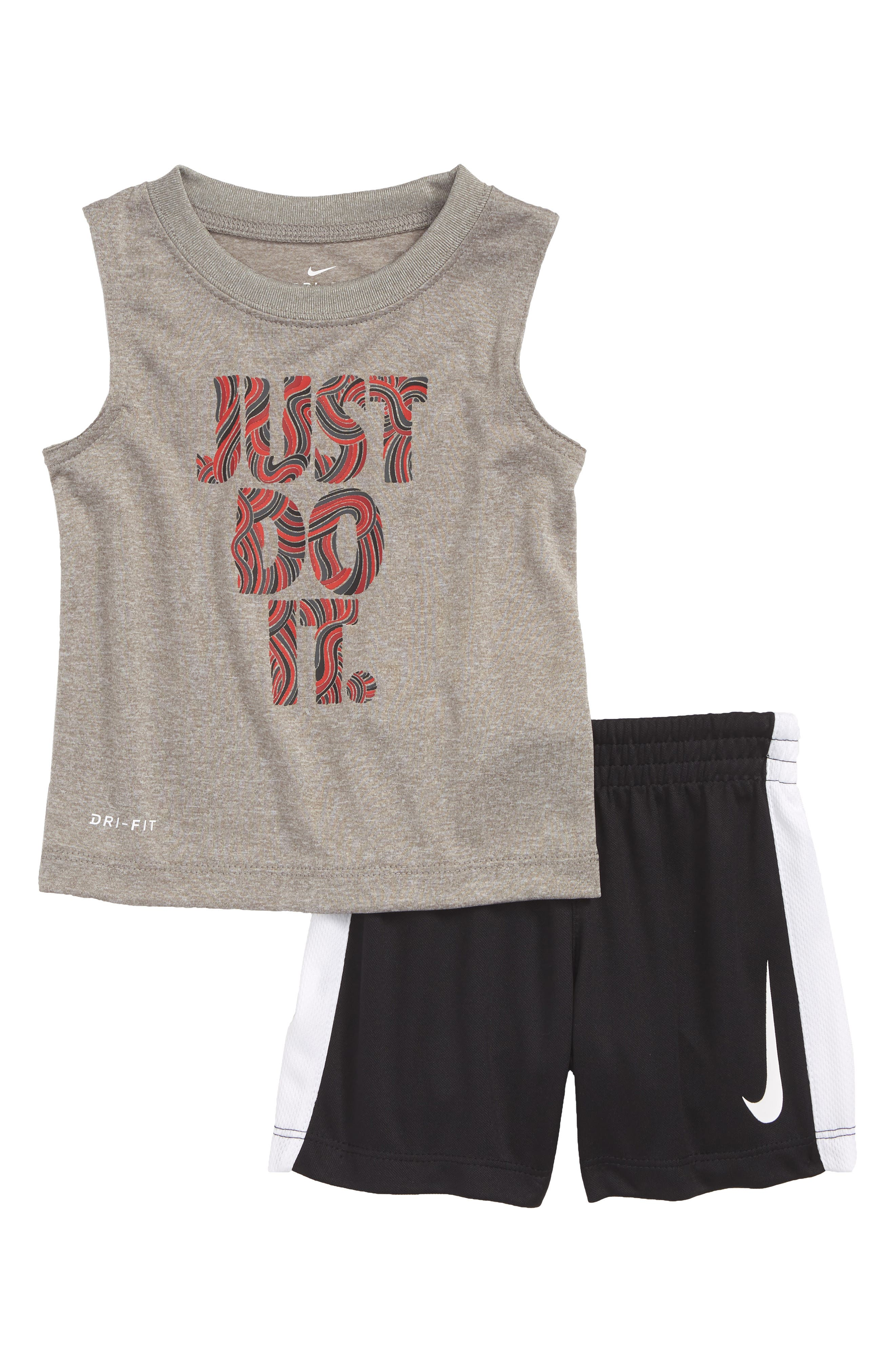 Doodle JDI Graphic Tank & Knit Shorts Set,                         Main,                         color, 088