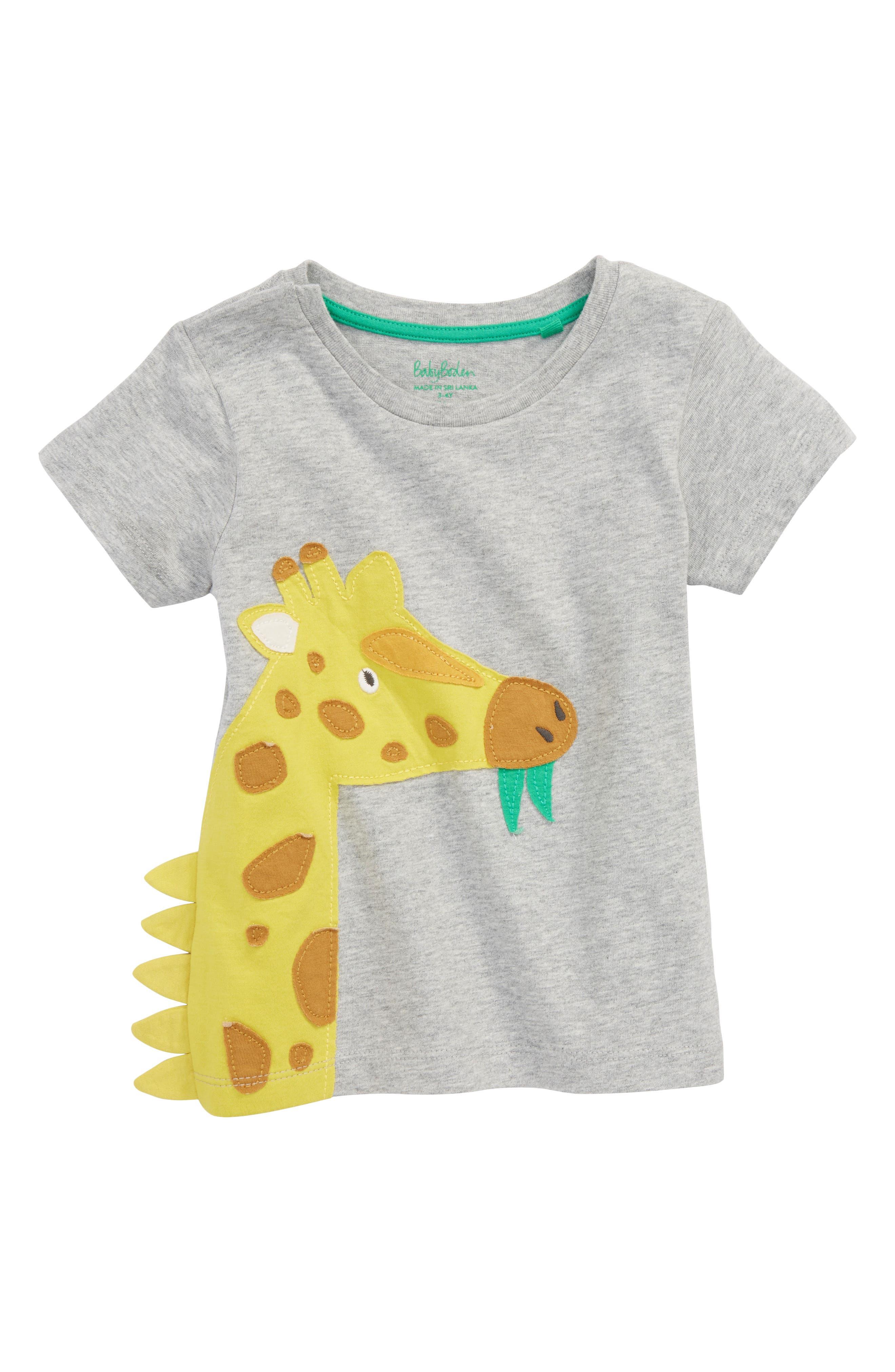 Appliqué Animal T-Shirt,                         Main,                         color, 062