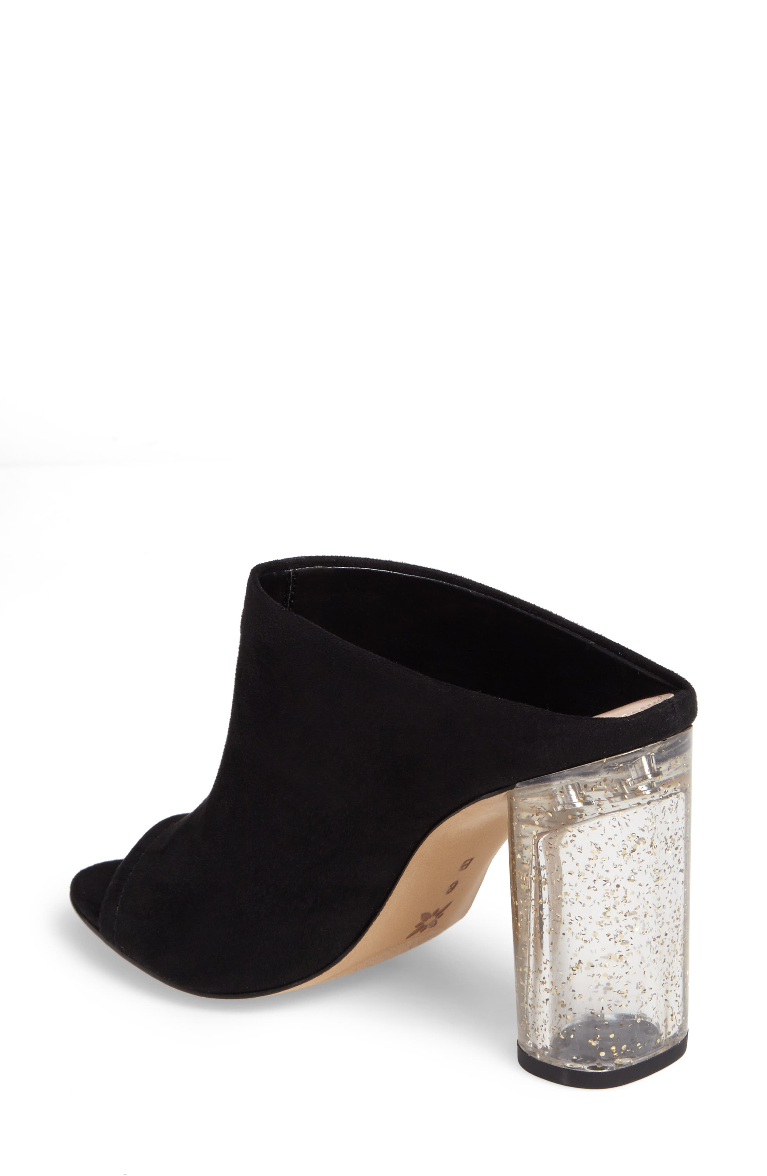 Renee Block Heel Mule,                             Alternate thumbnail 2, color,                             001