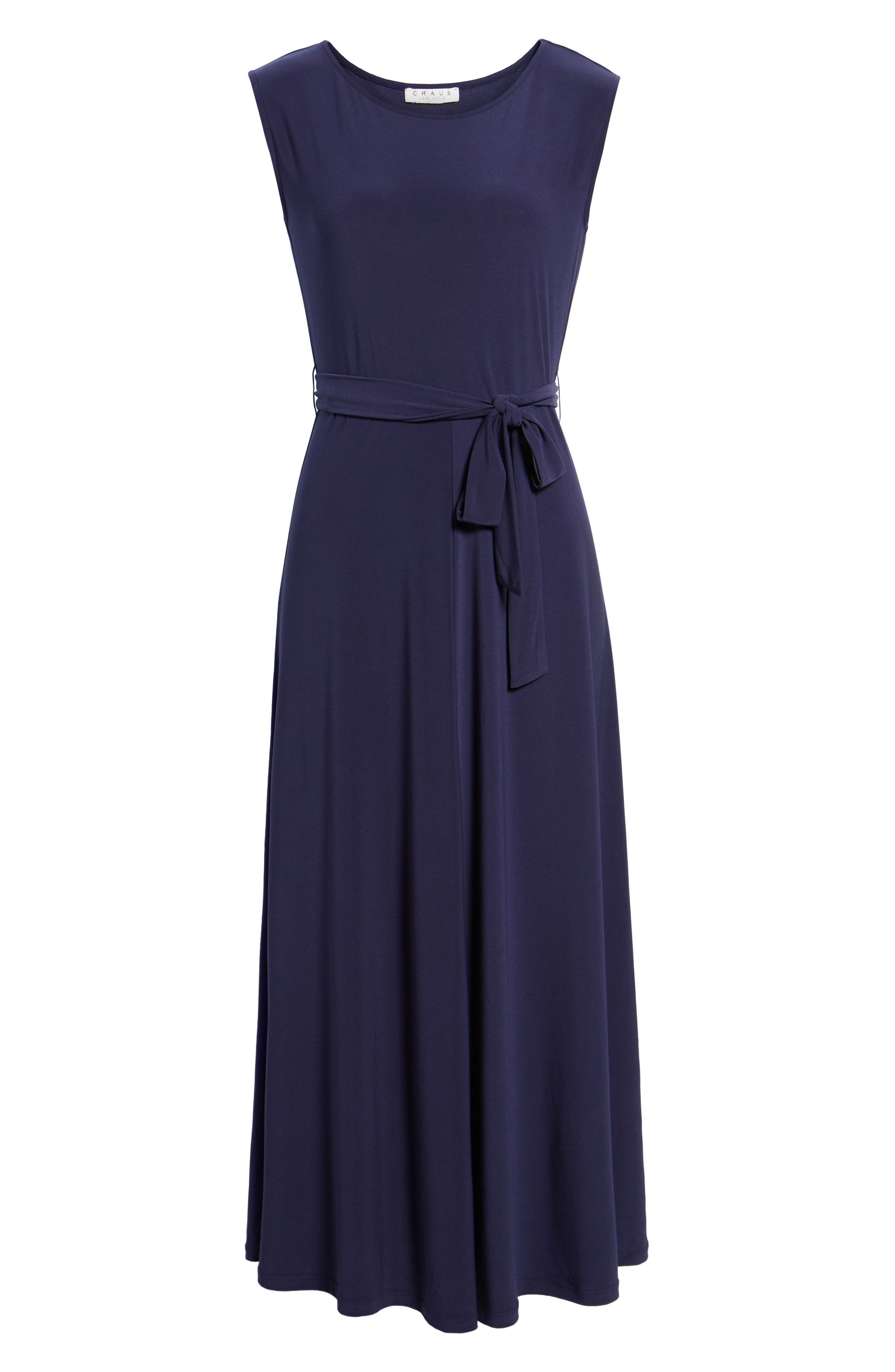 Cap Sleeve Tie Waist Maxi Dress,                             Alternate thumbnail 6, color,                             400