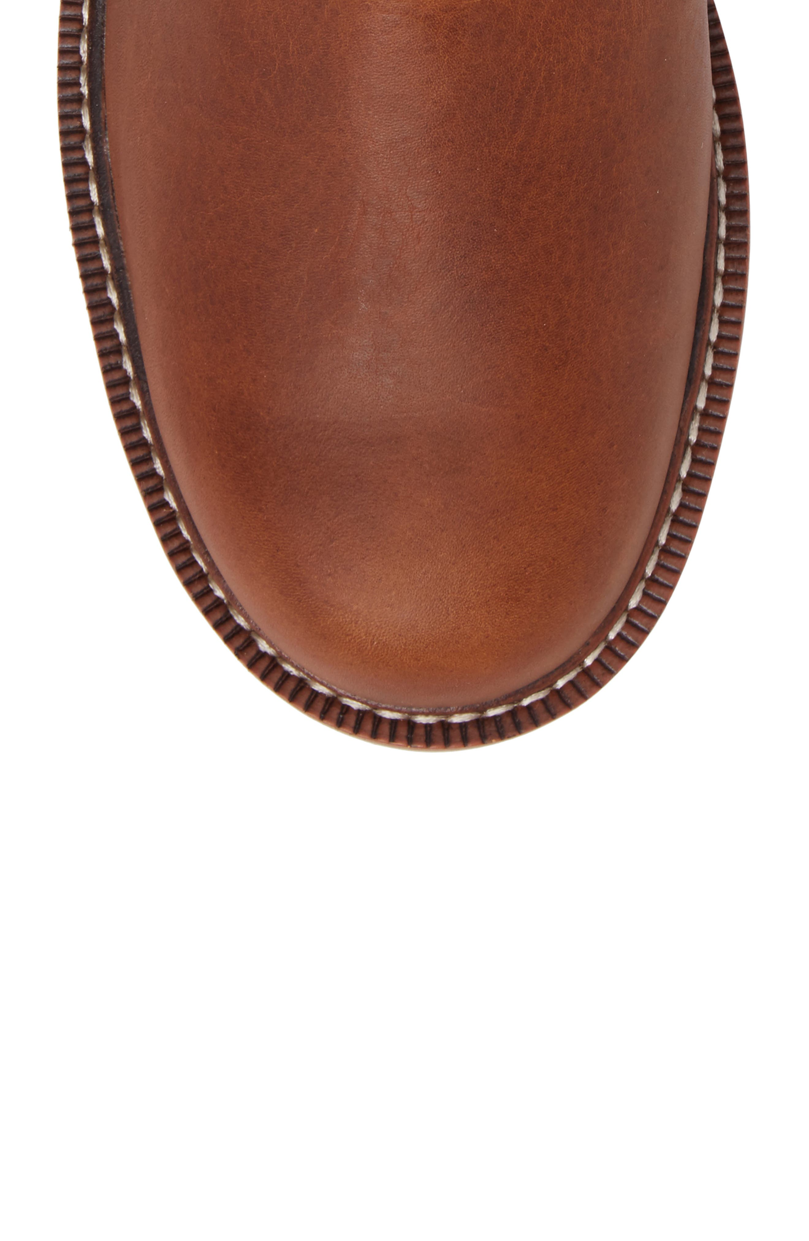 Rambler Boot,                             Alternate thumbnail 5, color,                             BROWN LEATHER
