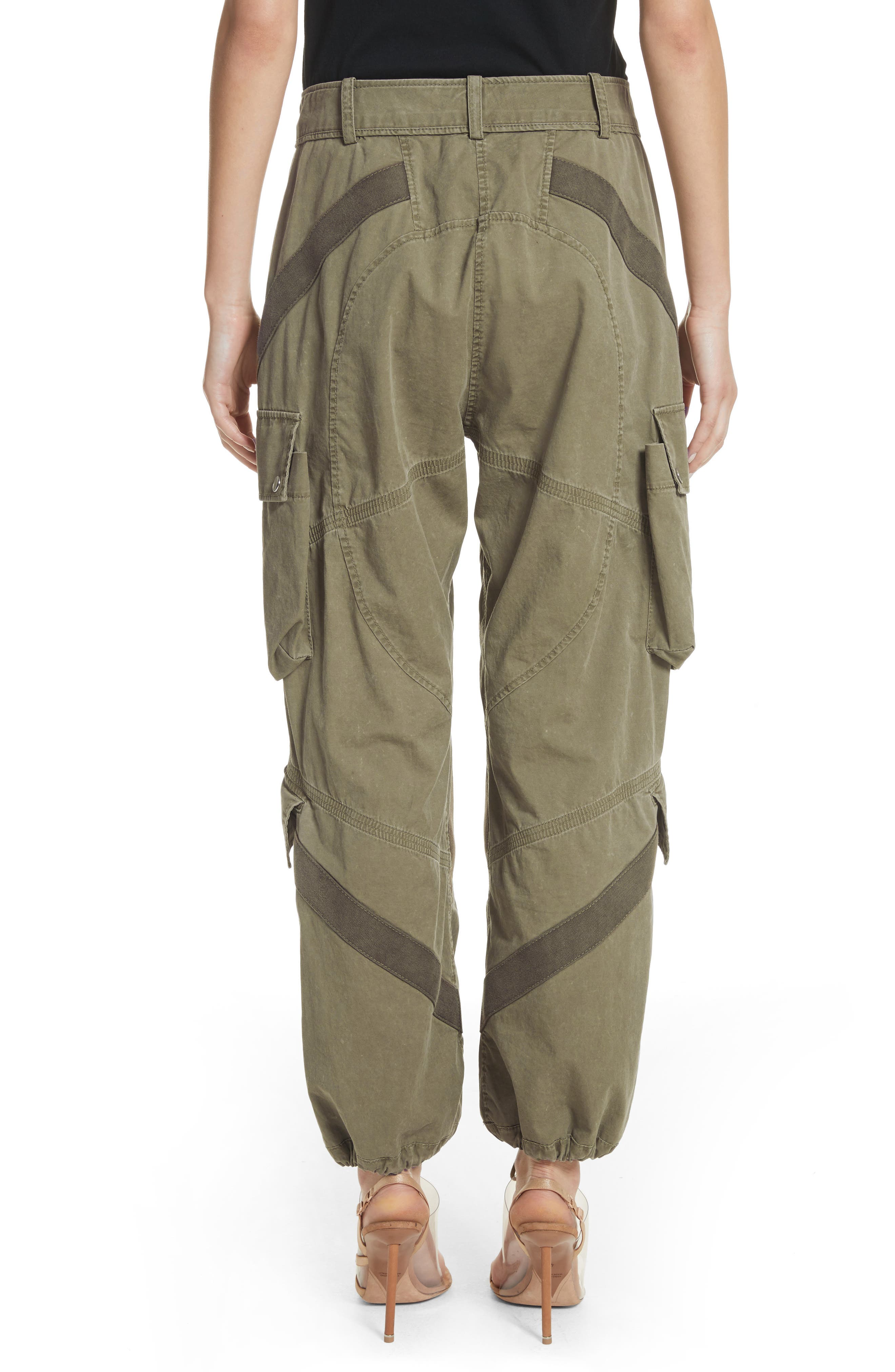 Tie Cuff Army Trousers,                             Alternate thumbnail 2, color,                             327