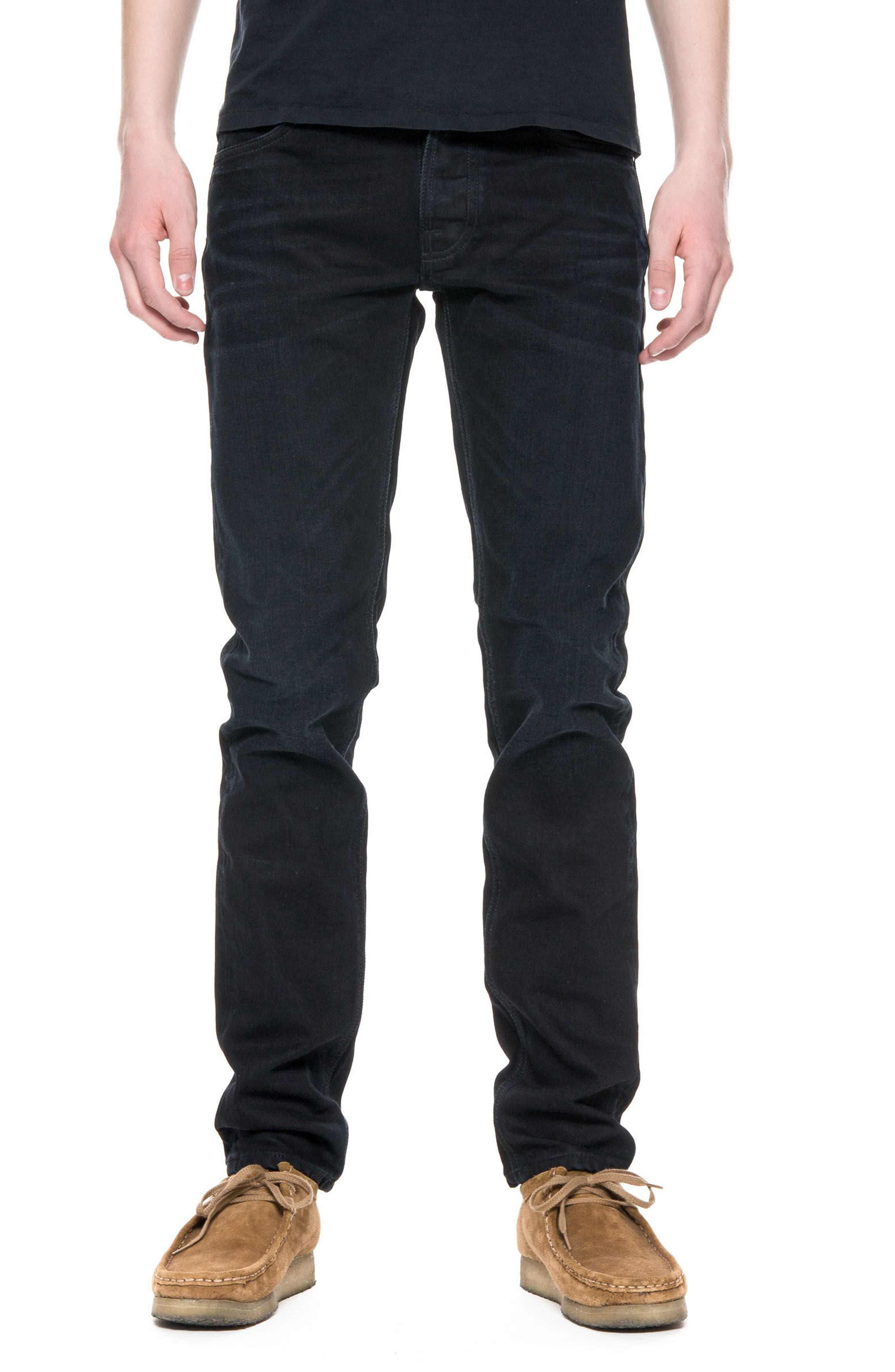 Lean Dean Slouchy Slim Fit Jeans,                             Main thumbnail 1, color,                             001