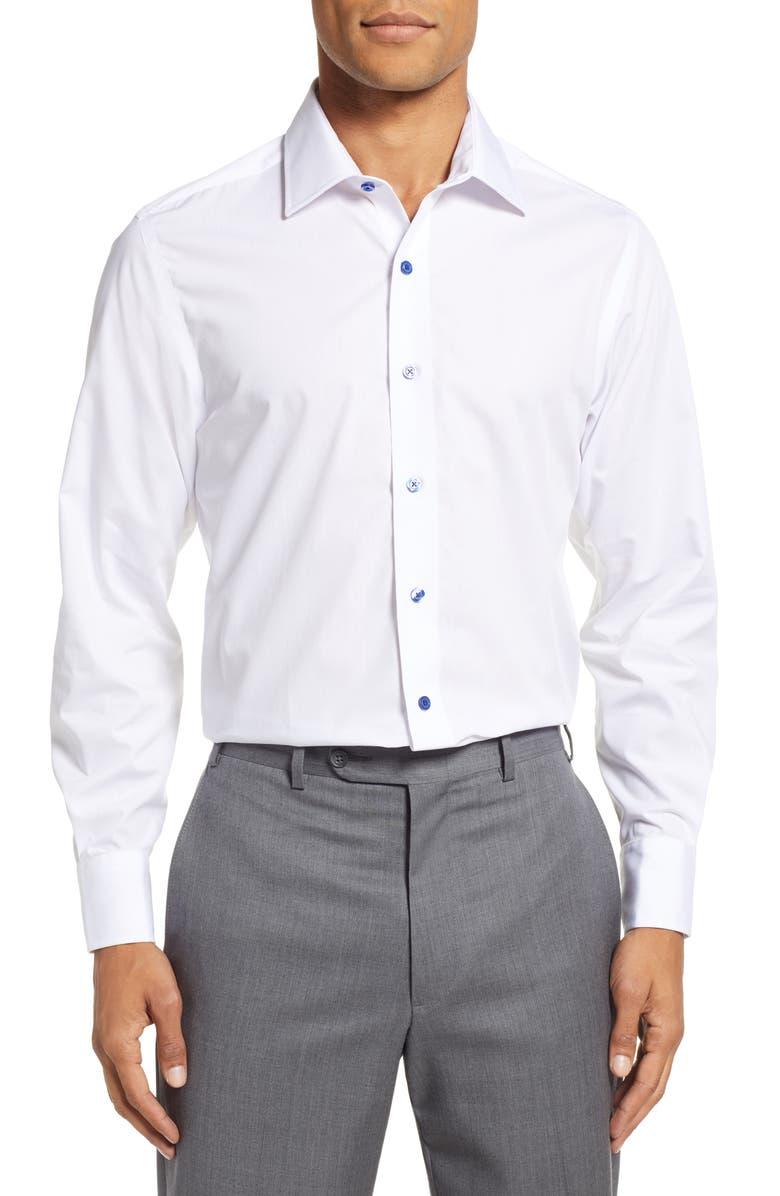 Stantt Slim Fit Solid Dress Shirt Nordstrom