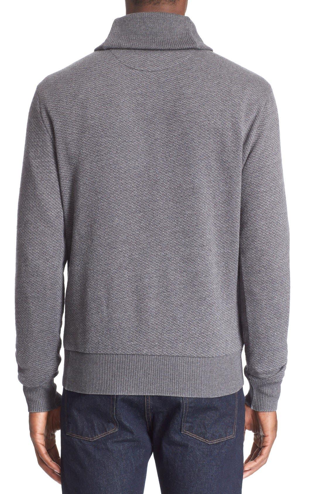 POLO RALPH LAUREN,                             Shawl Collar Sweater,                             Alternate thumbnail 5, color,                             020