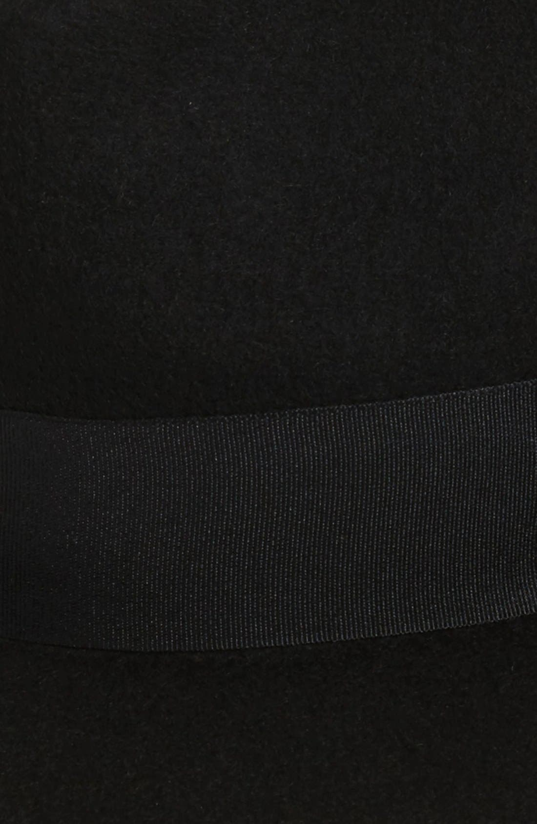 Wool Panama Hat,                             Alternate thumbnail 6, color,