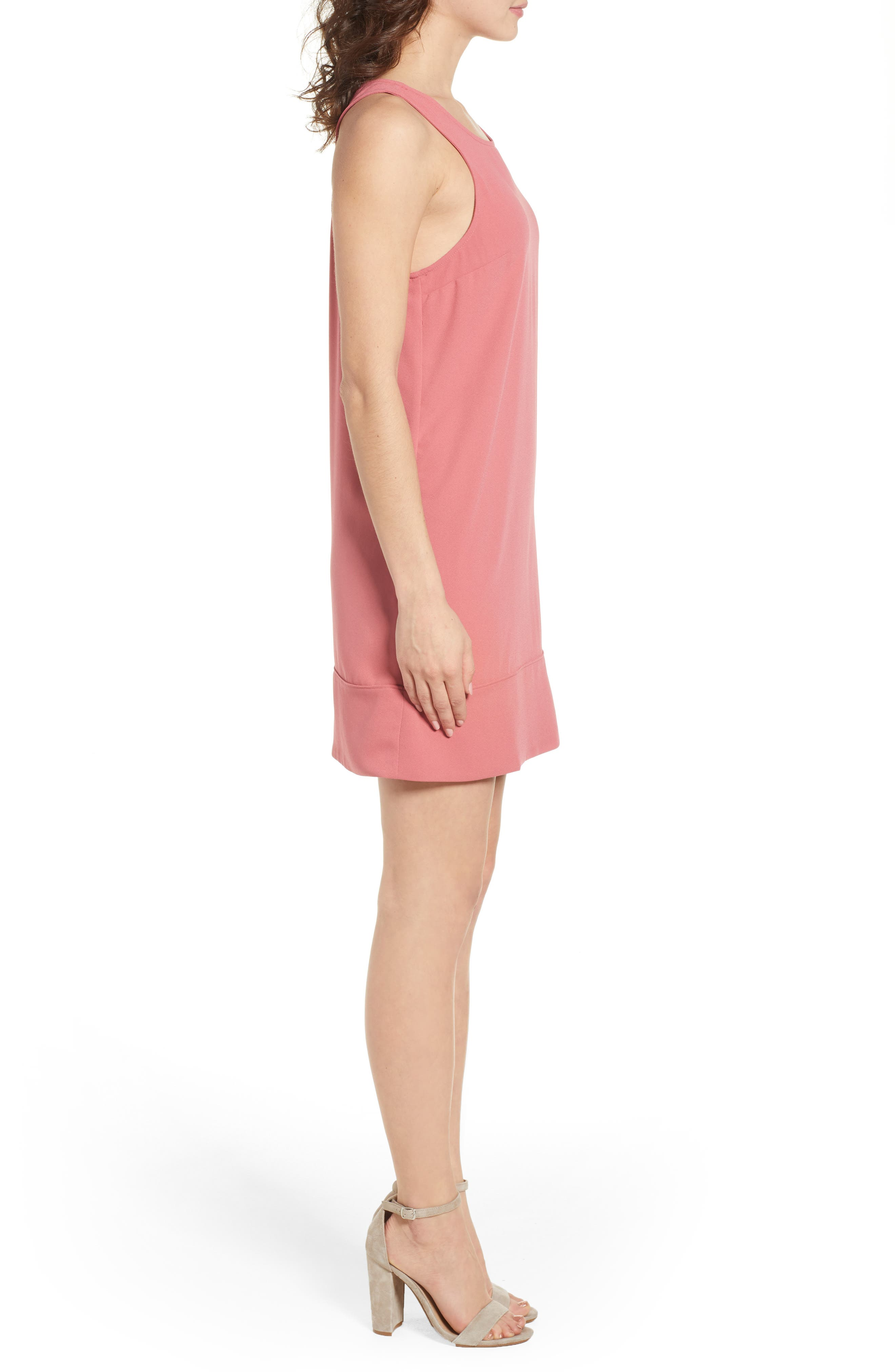 Racerback Shift Dress,                             Alternate thumbnail 101, color,