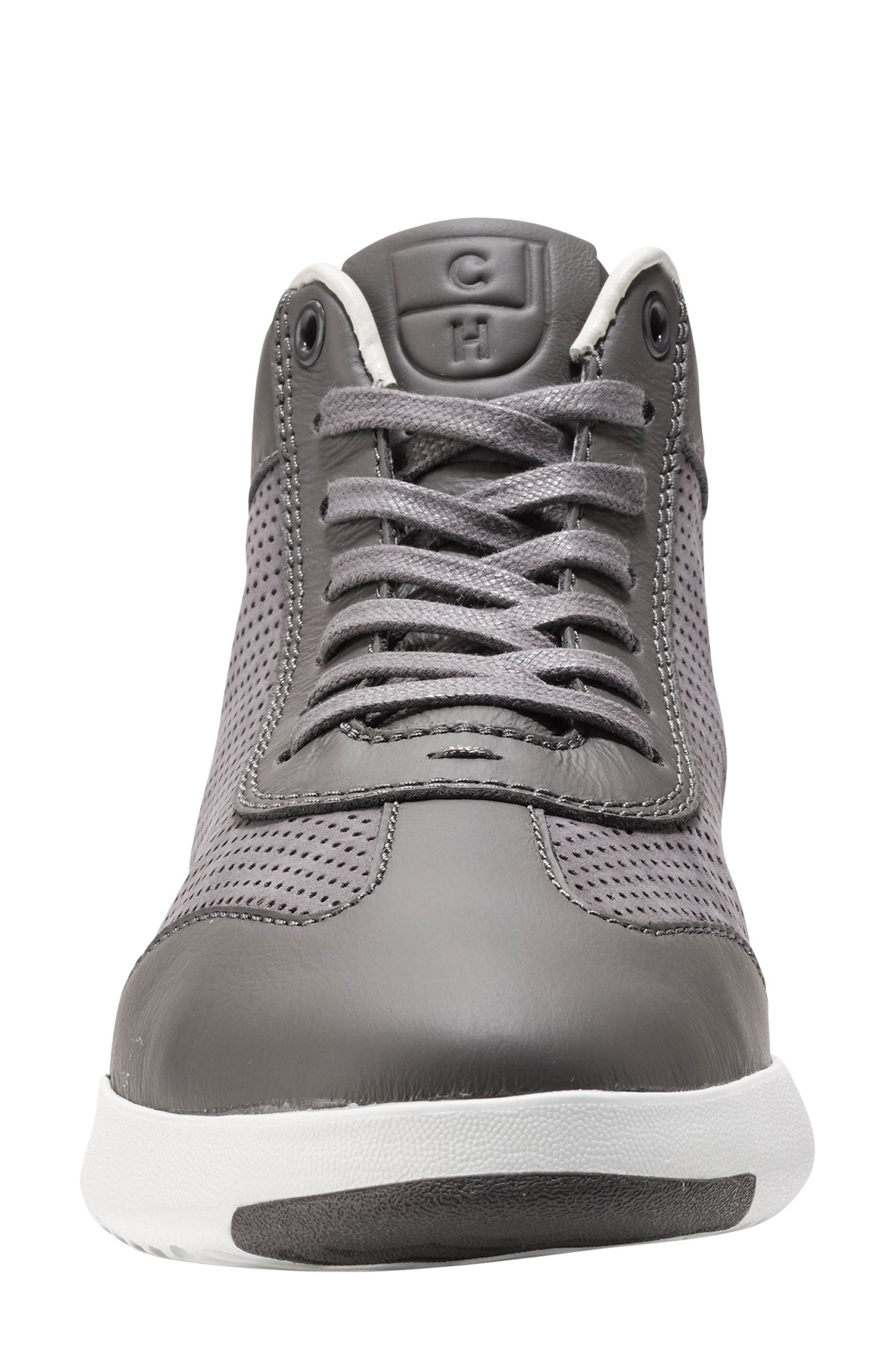 GrandPro High Top Sneaker,                             Alternate thumbnail 3, color,                             025