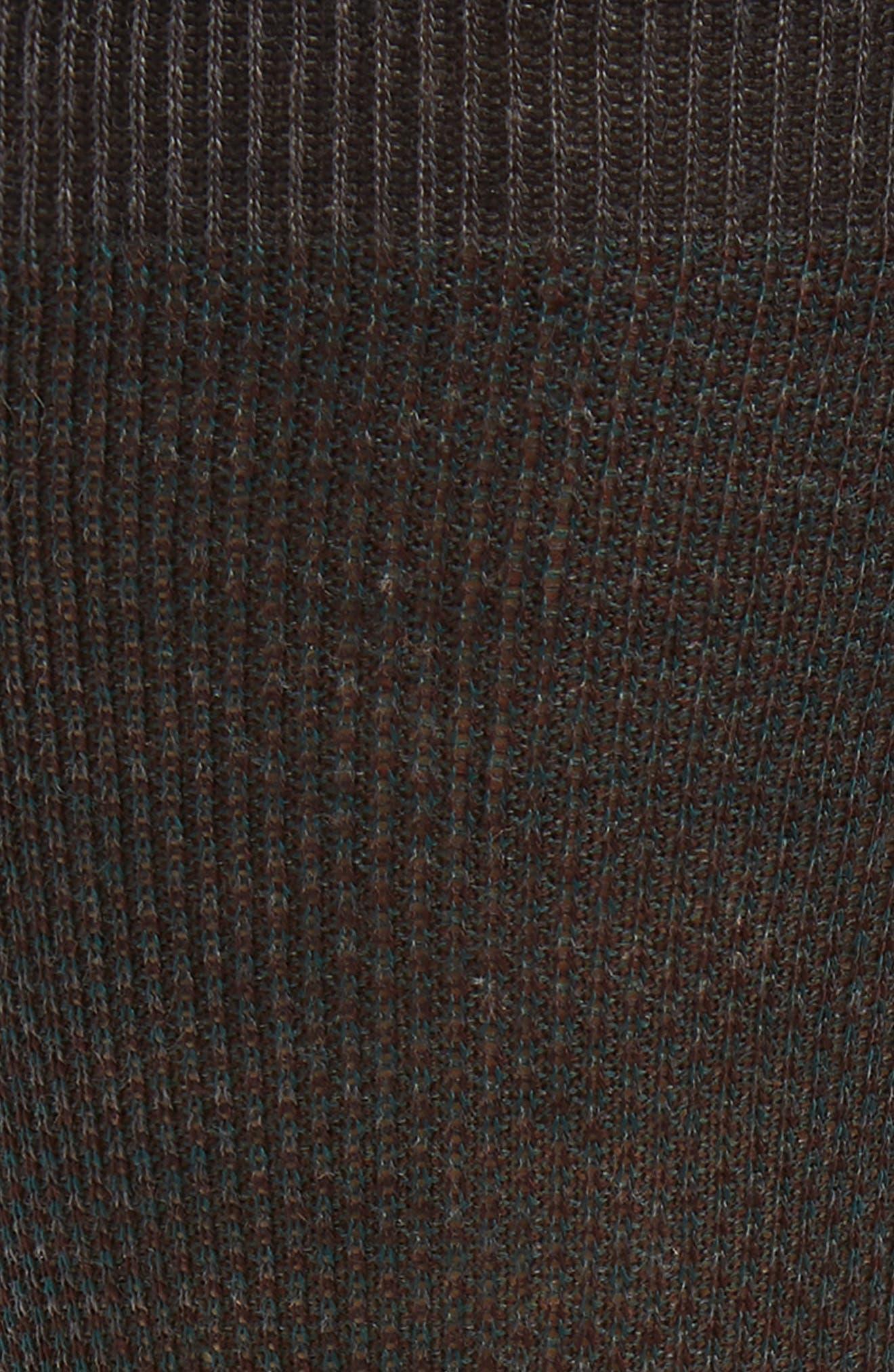 'Vintage Collection - Blenheim' Merino Wool Blend Socks,                             Alternate thumbnail 2, color,                             NEW DARK GREY MIX