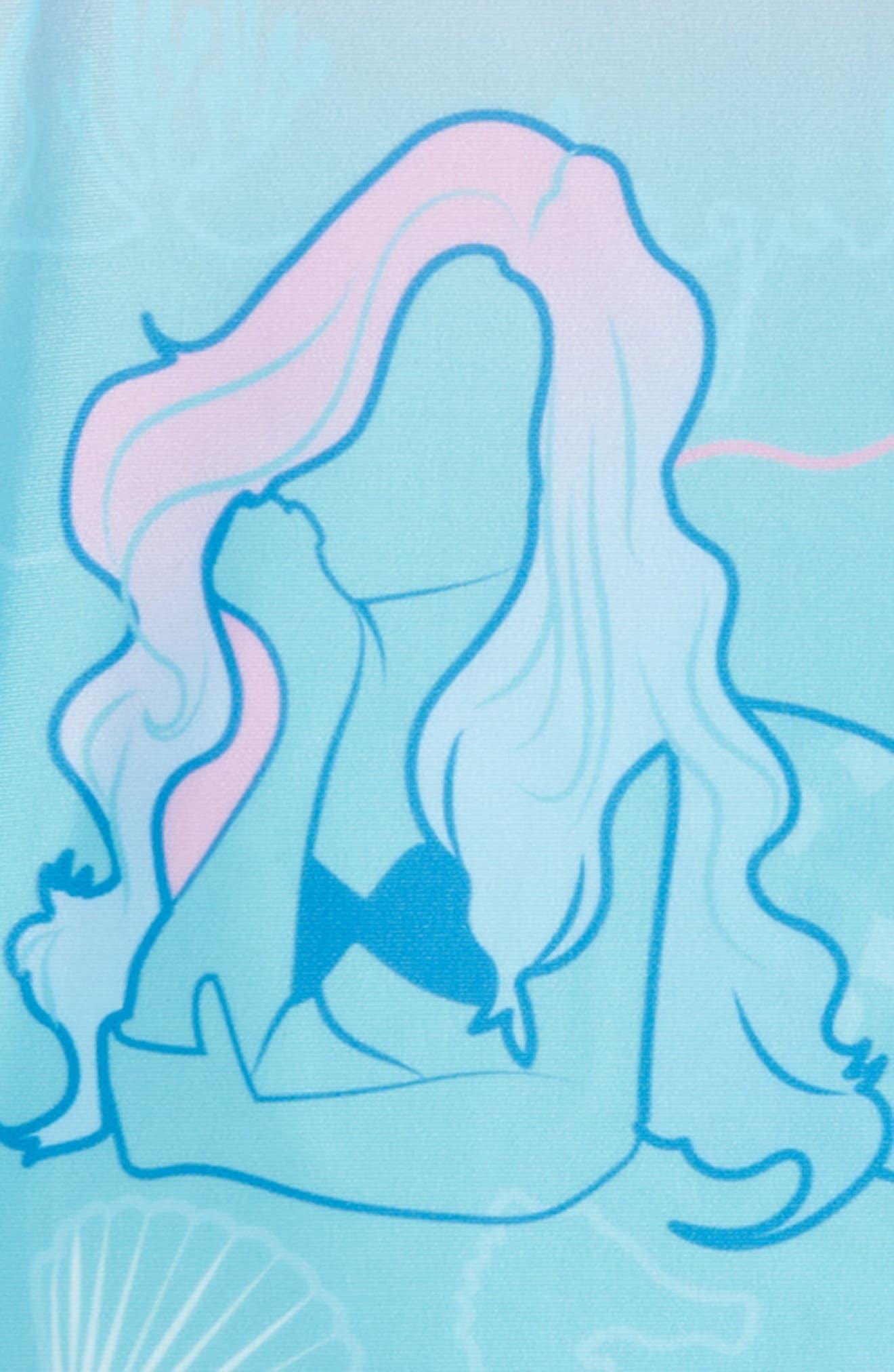 Two-Piece Rashguard Swimsuit,                             Alternate thumbnail 2, color,                             440