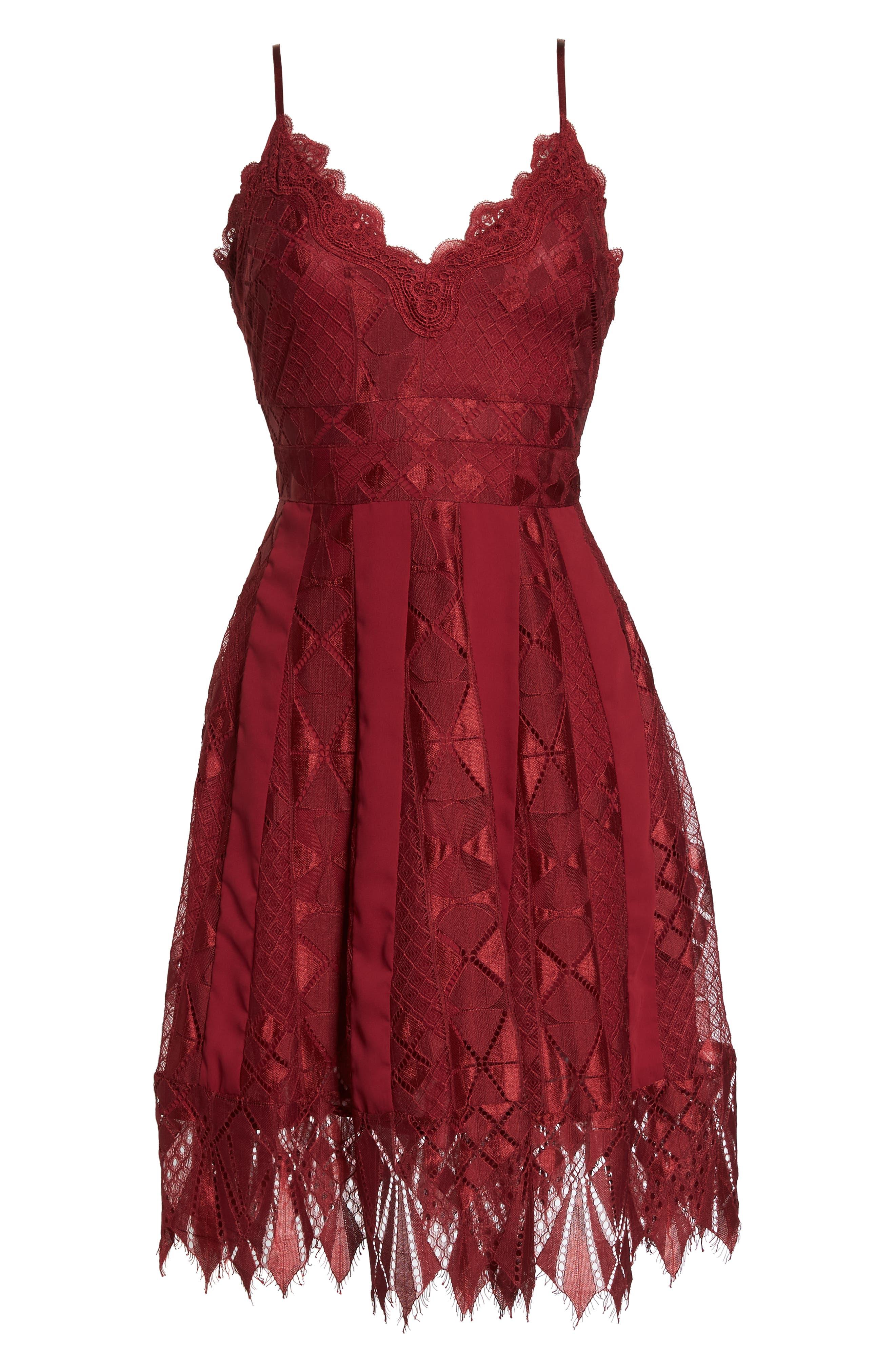 Calla Lace Dress,                             Alternate thumbnail 7, color,                             930