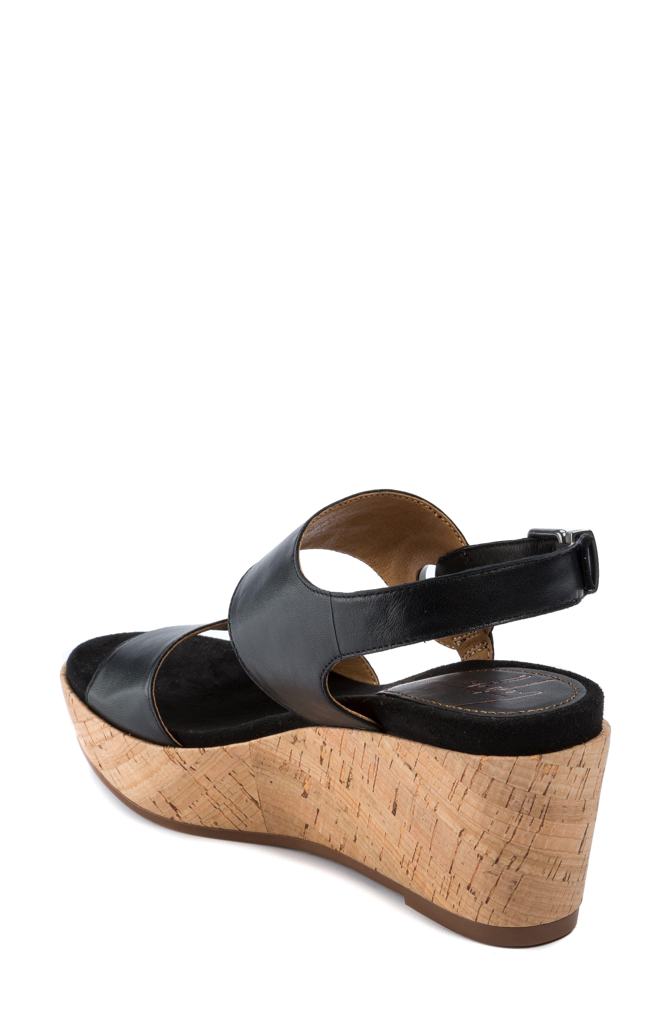 Lauren Platform Wedge Sandal,                             Alternate thumbnail 2, color,                             001