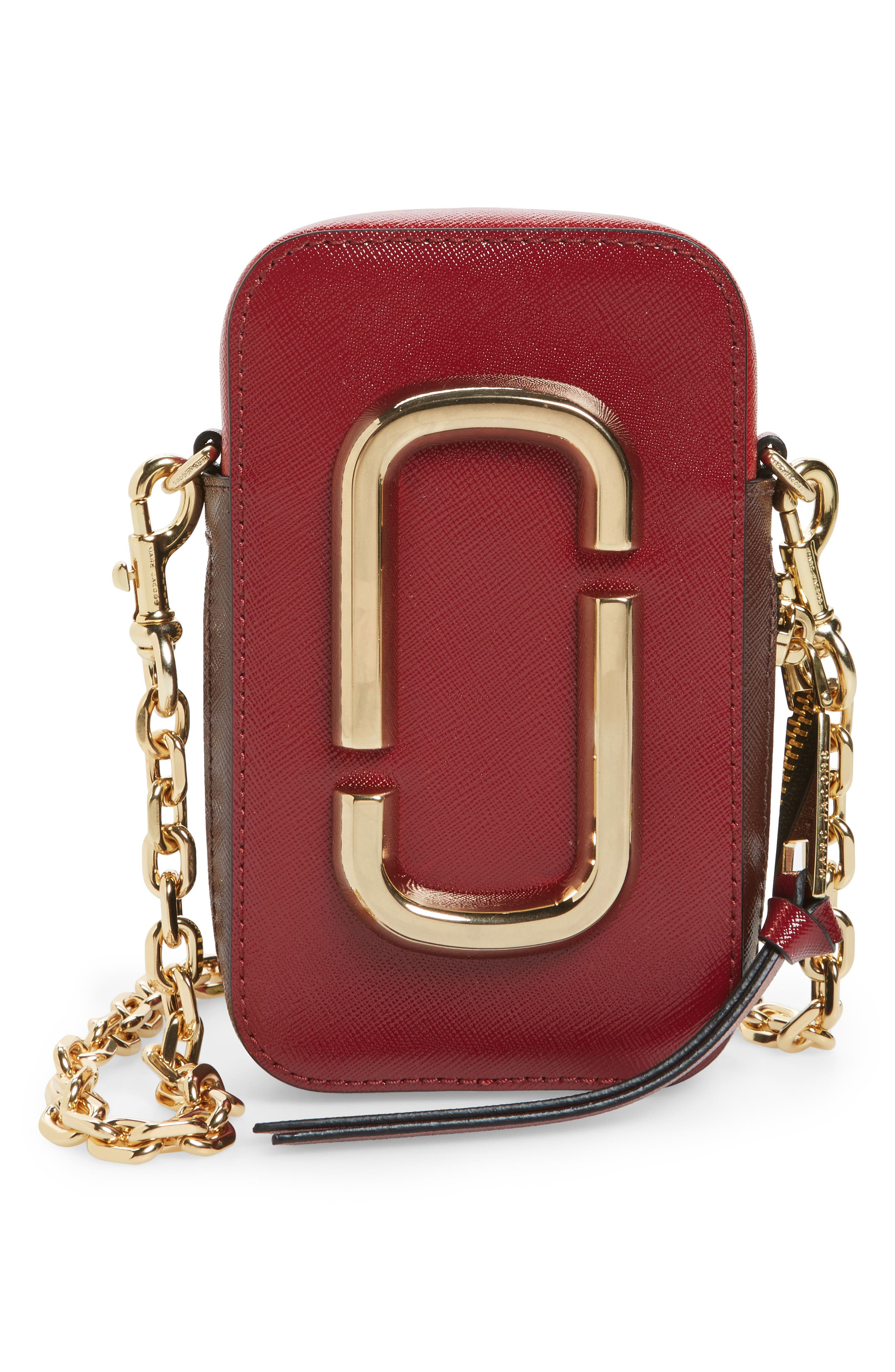 Hot Shot Saffiano Leather Shoulder Bag,                             Main thumbnail 4, color,