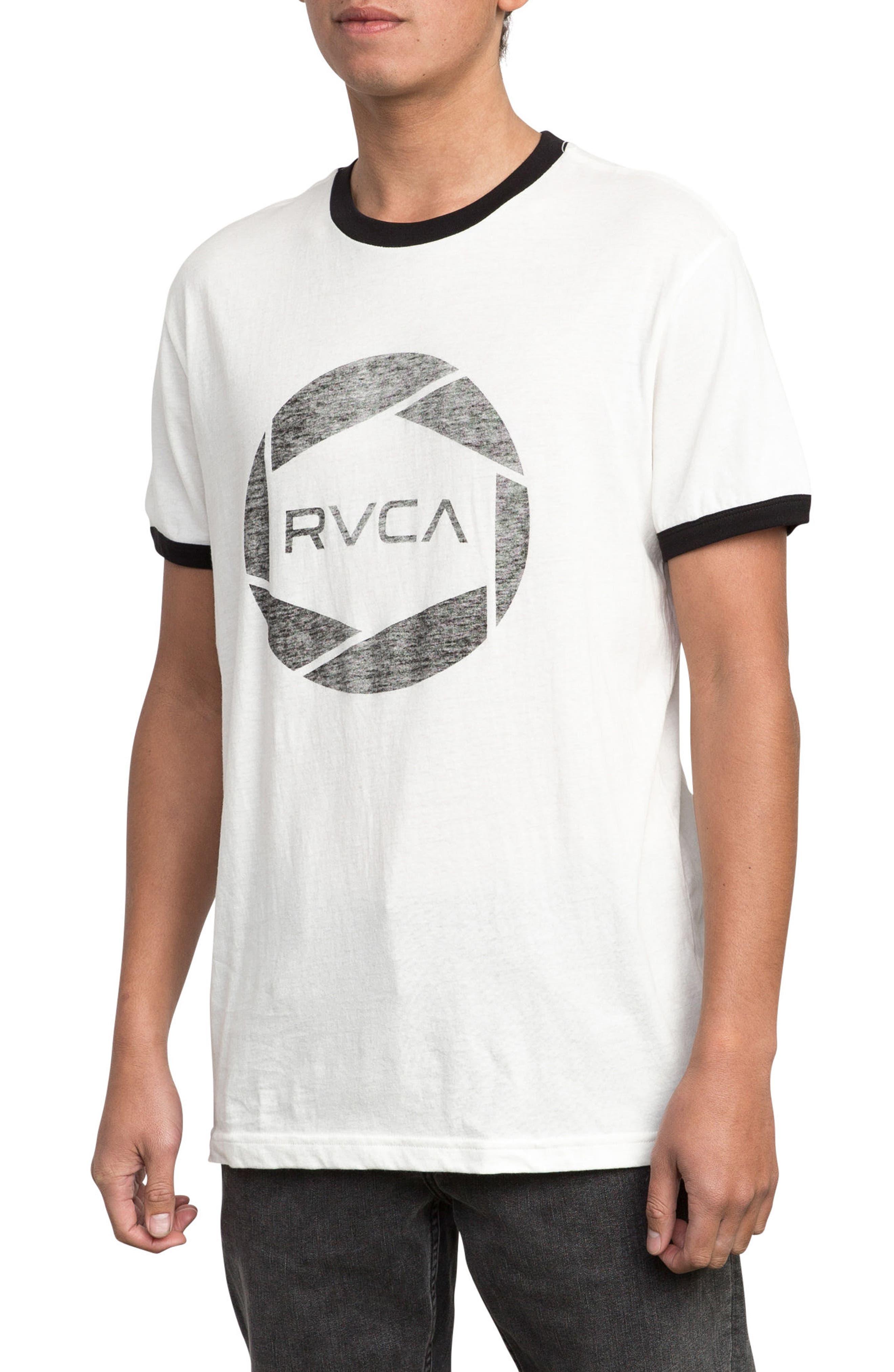 Big Network Ringer T-Shirt,                             Alternate thumbnail 6, color,