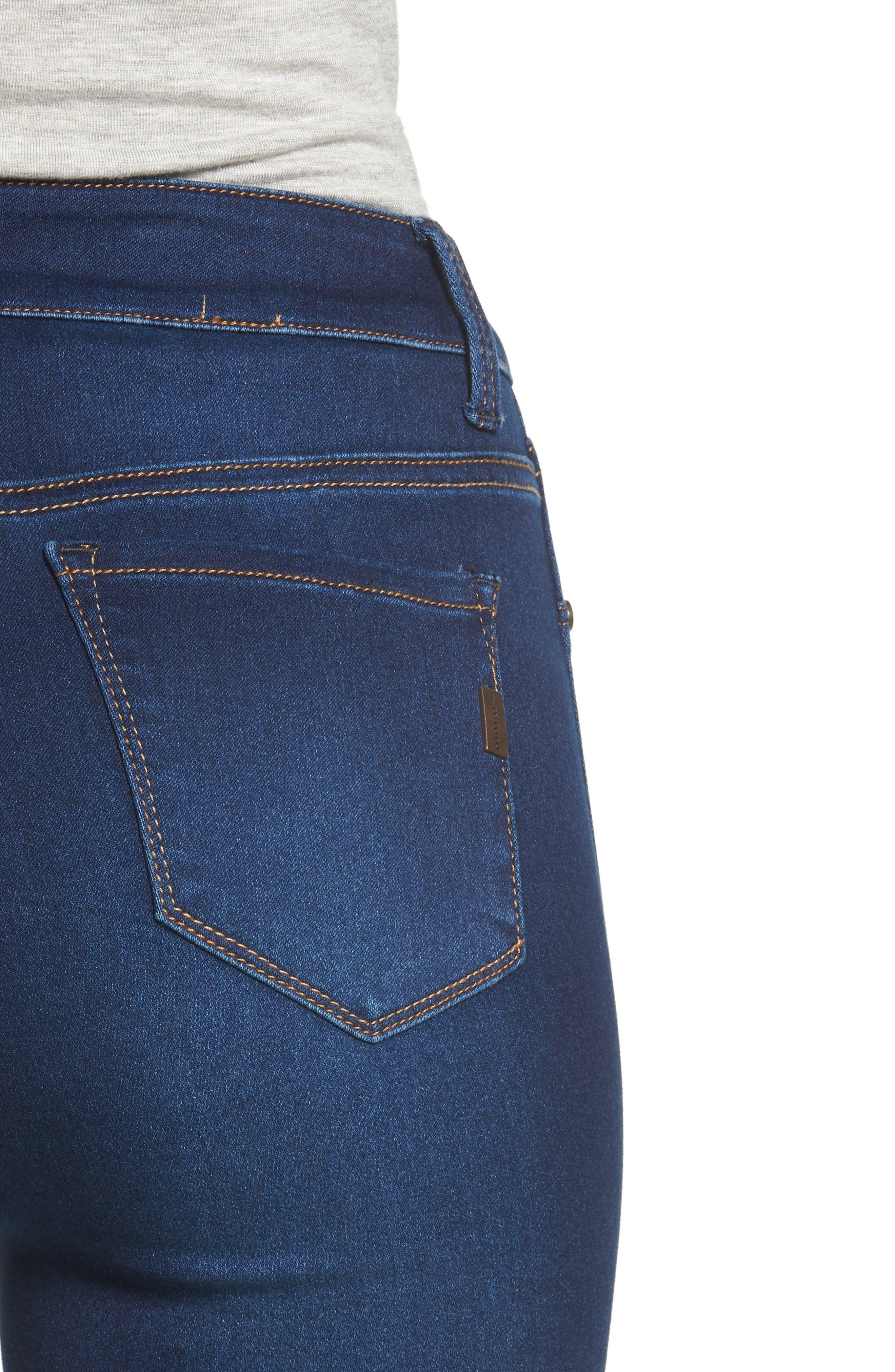 1822 DENIM,                             Butter High Rise Skinny Jeans,                             Alternate thumbnail 4, color,                             LENNOX