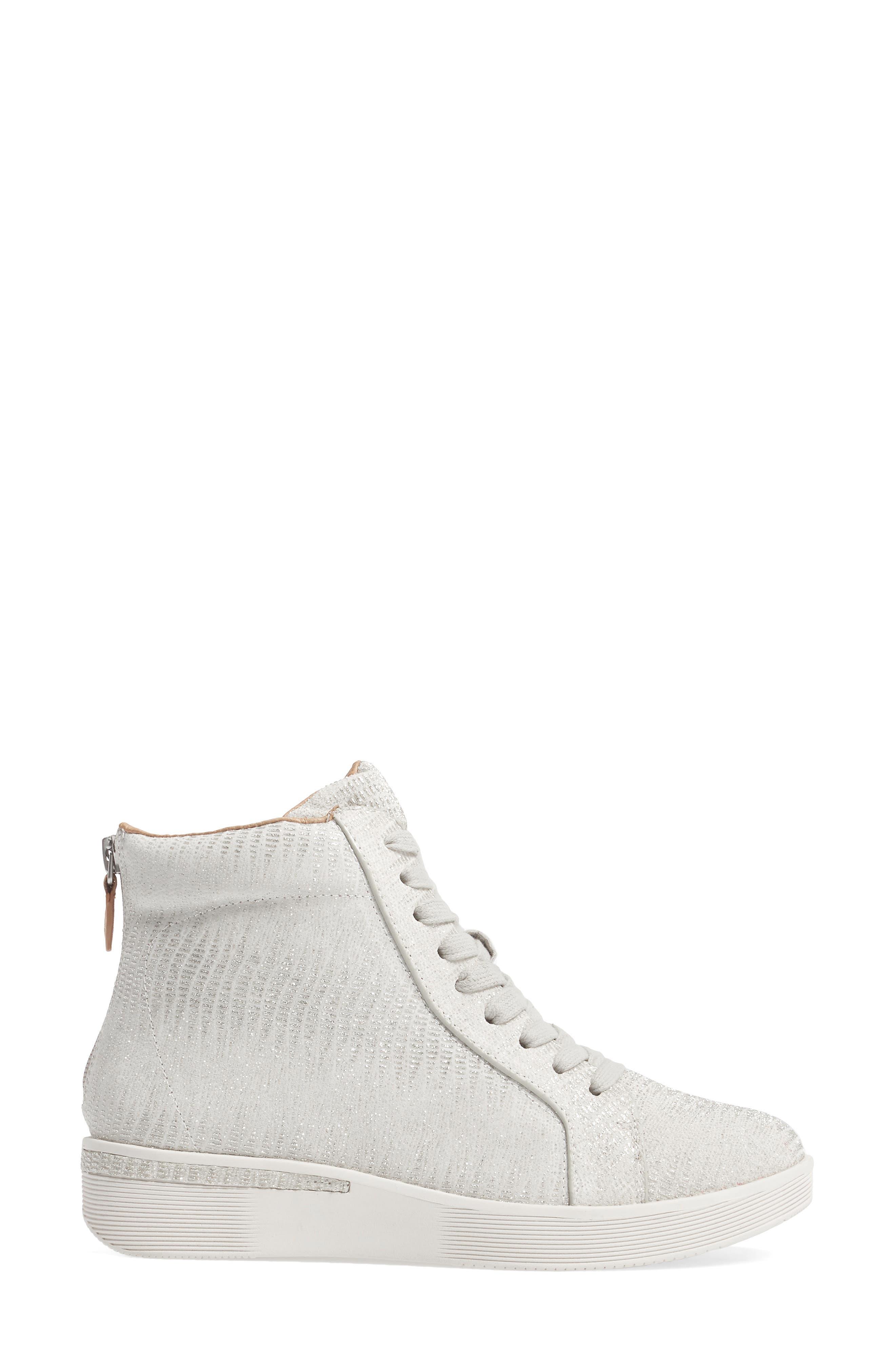 Helka High Top Sneaker,                             Alternate thumbnail 6, color,