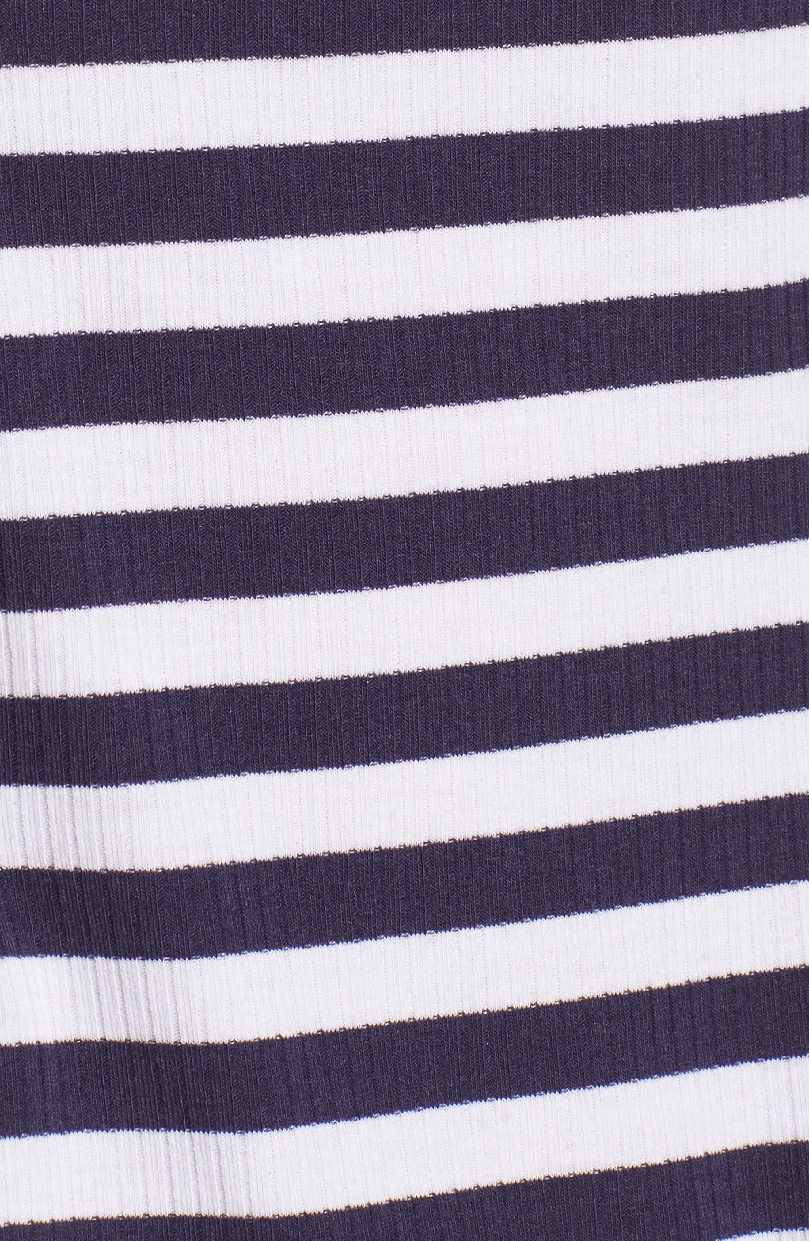 Stripe Peplum Tee,                             Alternate thumbnail 11, color,