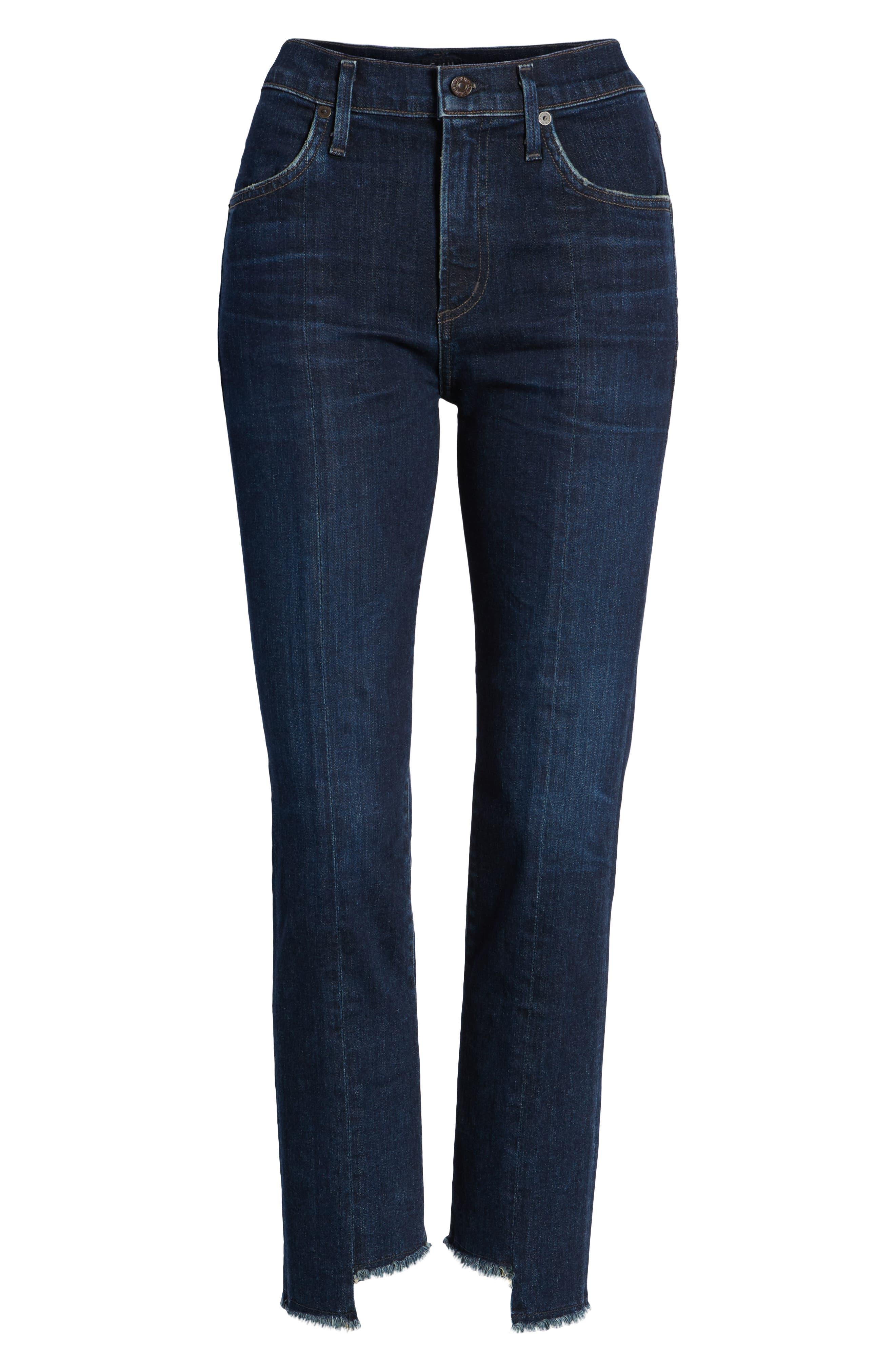 Amari Ankle Skinny Jeans,                             Alternate thumbnail 7, color,                             401