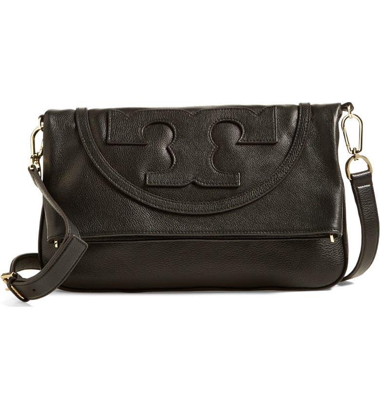 a6372982459a Tory Burch  All T Suki  Leather Crossbody Bag