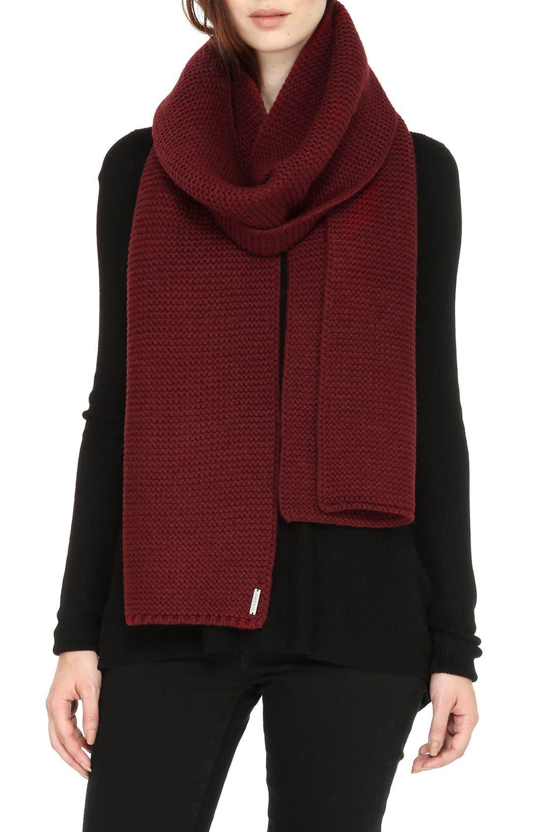 Extra Long Knit Scarf,                             Main thumbnail 6, color,