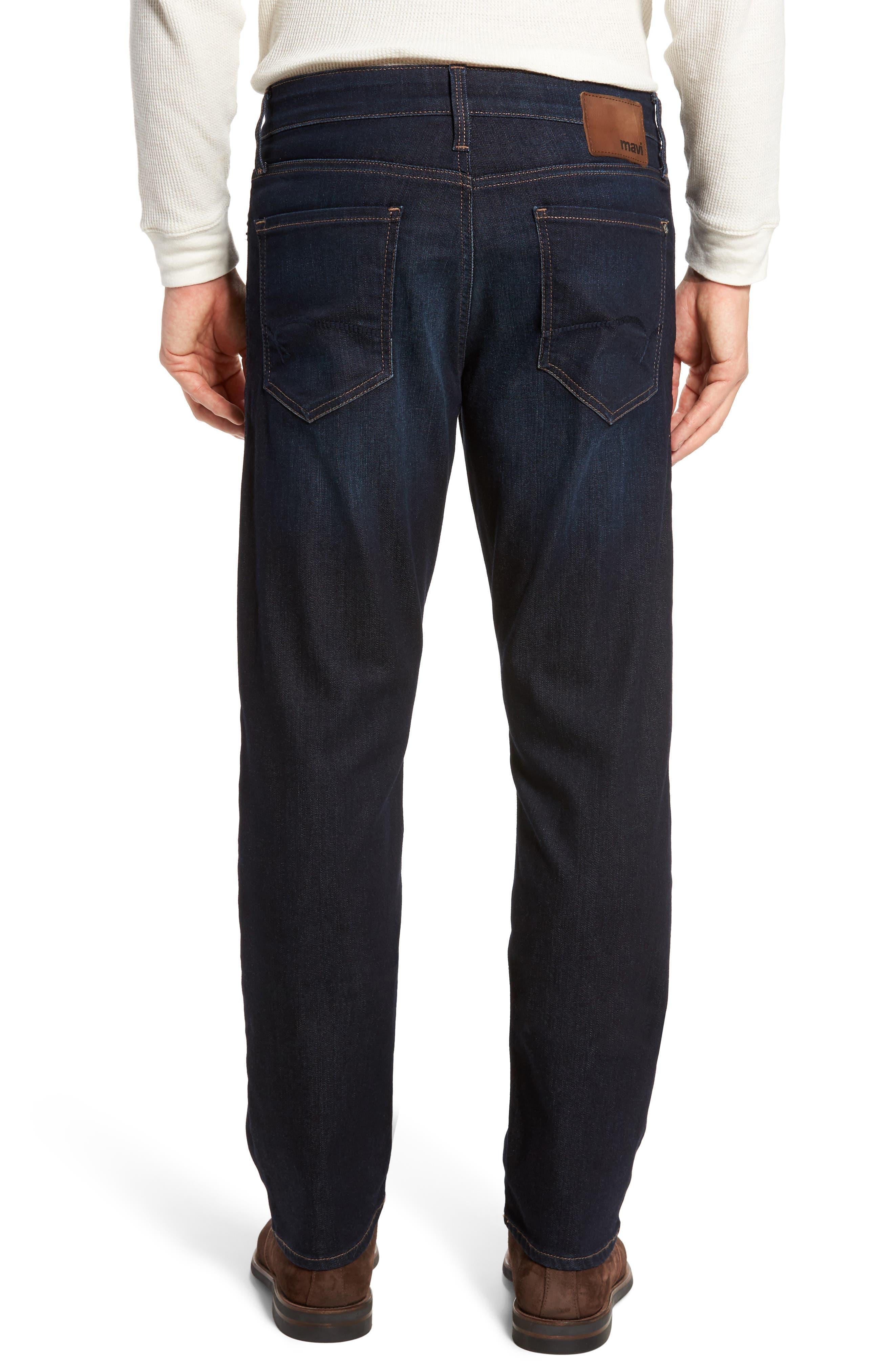 Matt Relaxed Fit Jeans,                             Alternate thumbnail 2, color,                             401