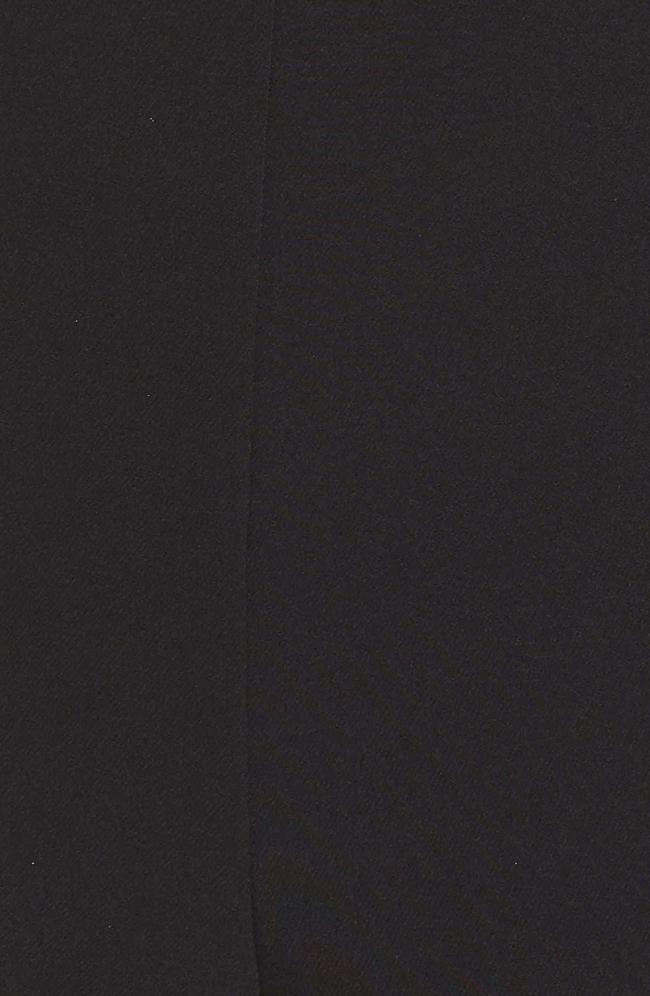 Laguna Crepe Jumpsuit,                             Alternate thumbnail 6, color,                             BLACK